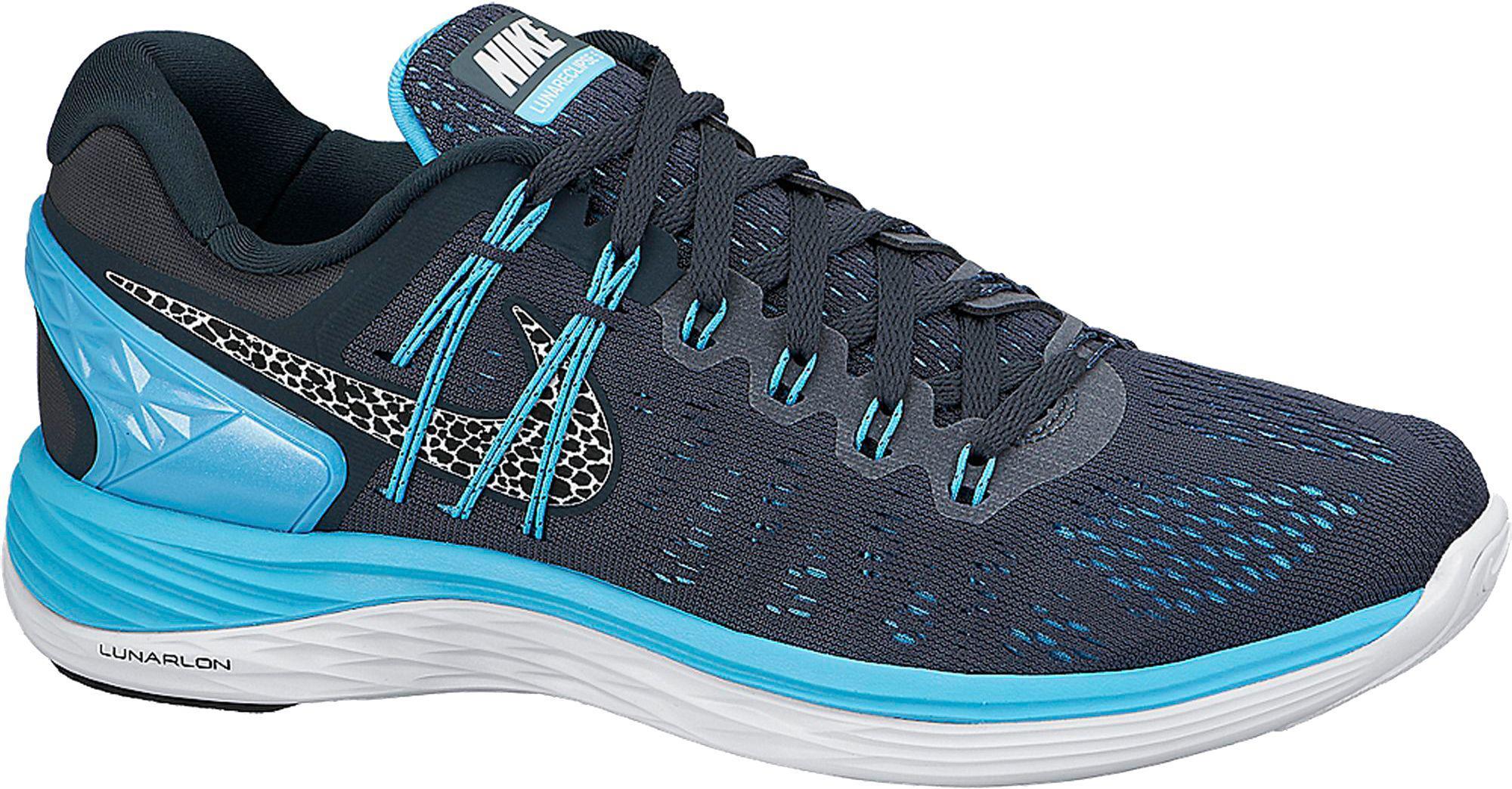 31695136edbe czech lyst nike lunareclipse 5 running shoes in blue ea6cf 42e8d