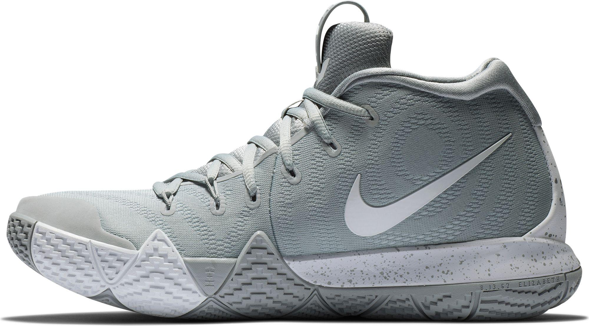 newest 27590 ff696 Nike Gray Kyrie 4 Tb Basketball Shoes for men