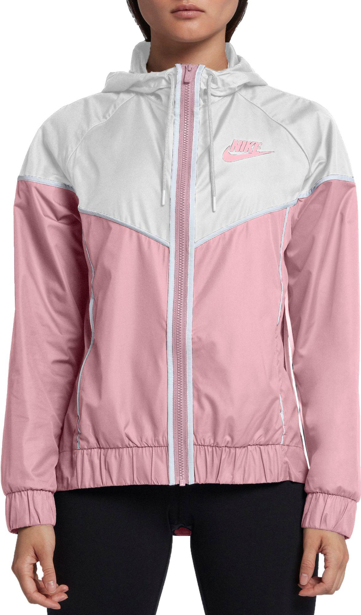 check out 2604f 9673f Nike - Pink Sportswear Windrunner Jacket - Lyst