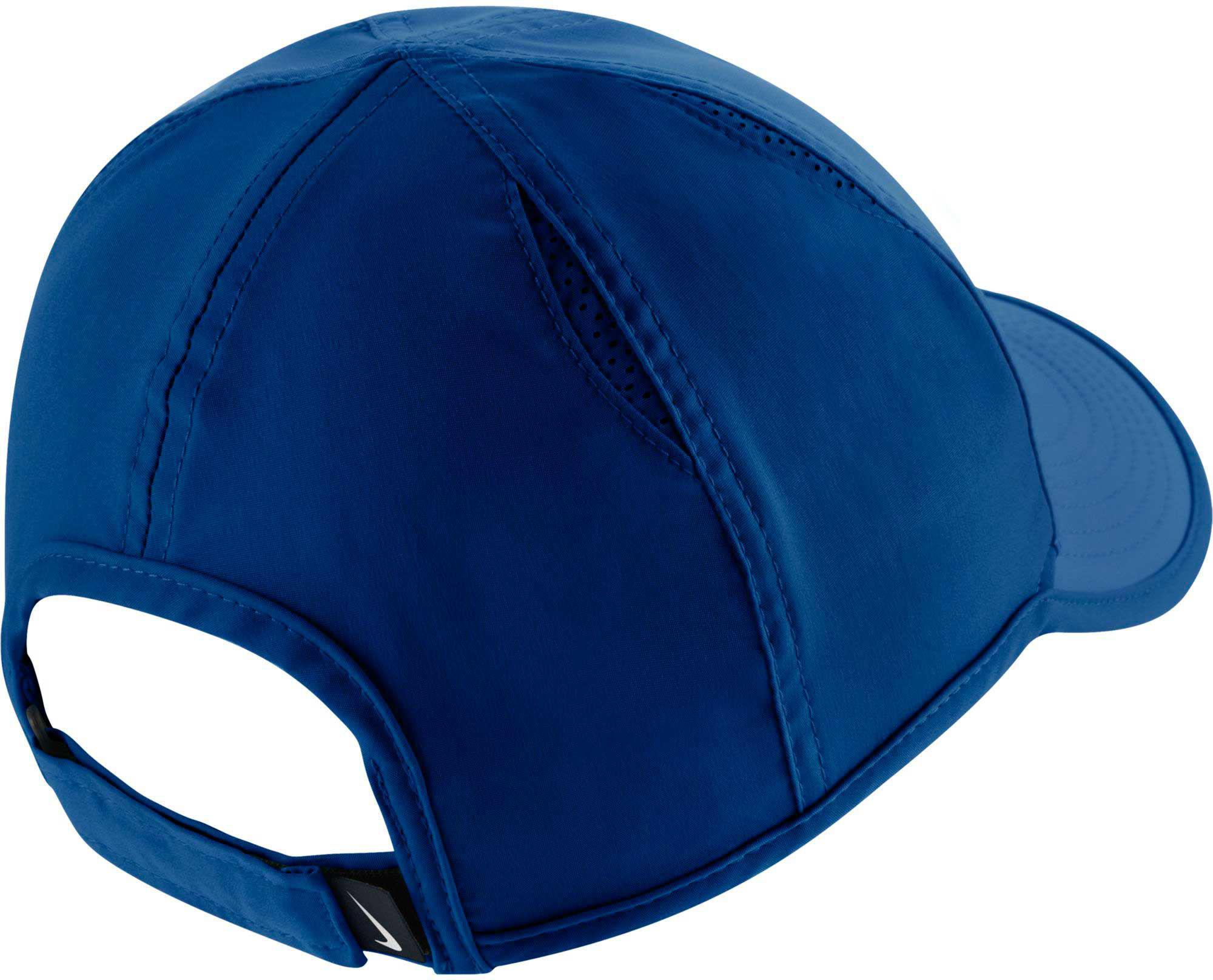 222d23140de Lyst - Nike Feather Light Adjustable Hat in Blue