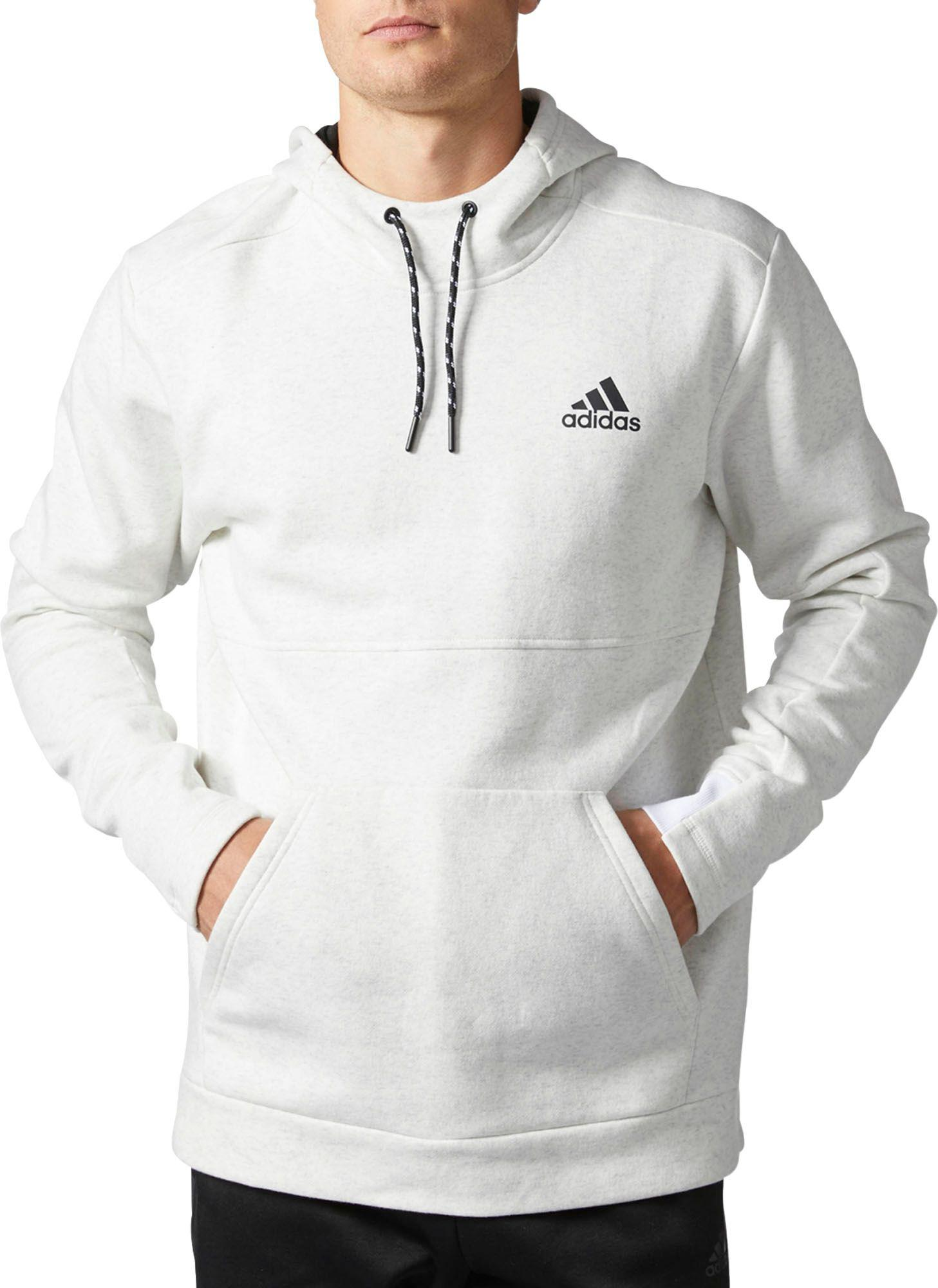 15dfb6fde Adidas White Post Game Hoodie for men