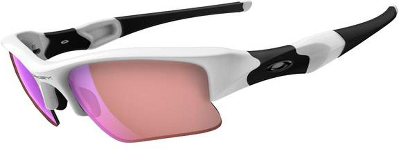 2a49cf7989 Lyst - Oakley Flak Jacket Xlj Sunglasses in White for Men