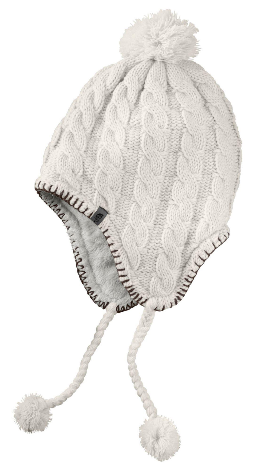 c77eca4dd8d Lyst - The North Face Fuzzy Earflap Beanie in White