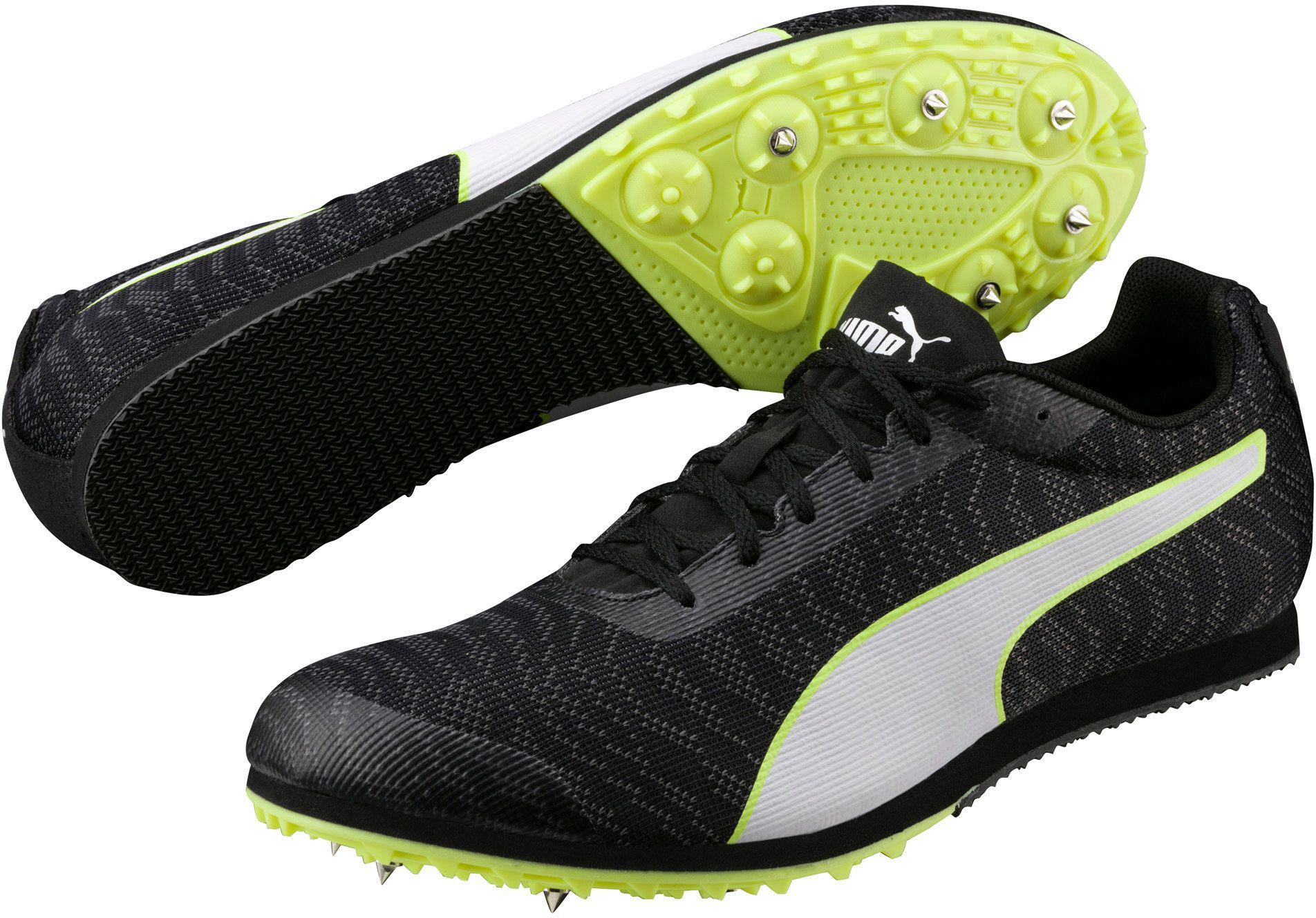 Lyst - PUMA Evospeed Star 6 Track And Field Shoes in Black for Men db3557be8