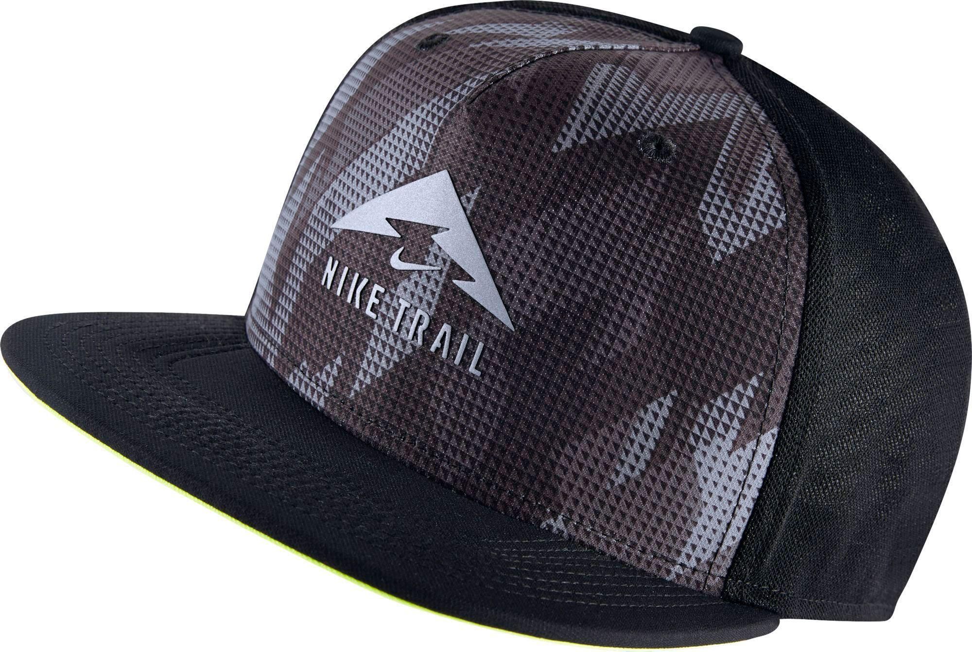 7b5c12d6d0b Lyst - Nike Trail Aerobill Trucker Running Hat in Black for Men