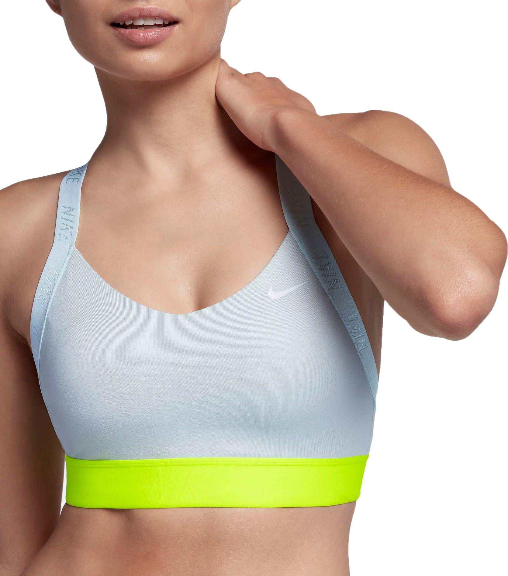 5db66a0b2ecc3 Nike - Multicolor Indy Logo Back Sports Bra - Lyst