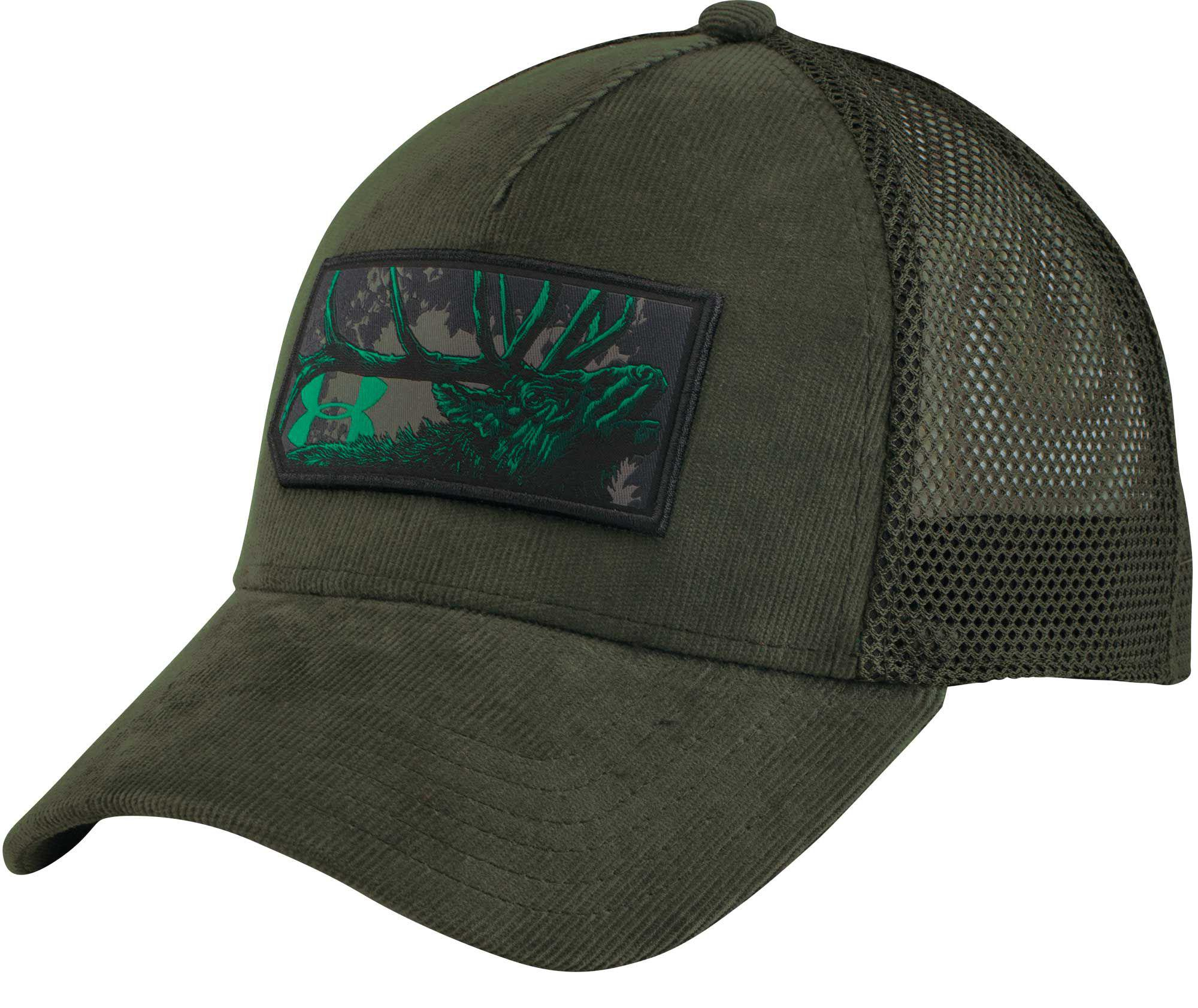 ff7b607fe Under Armour Green Ua Patch Hat for men