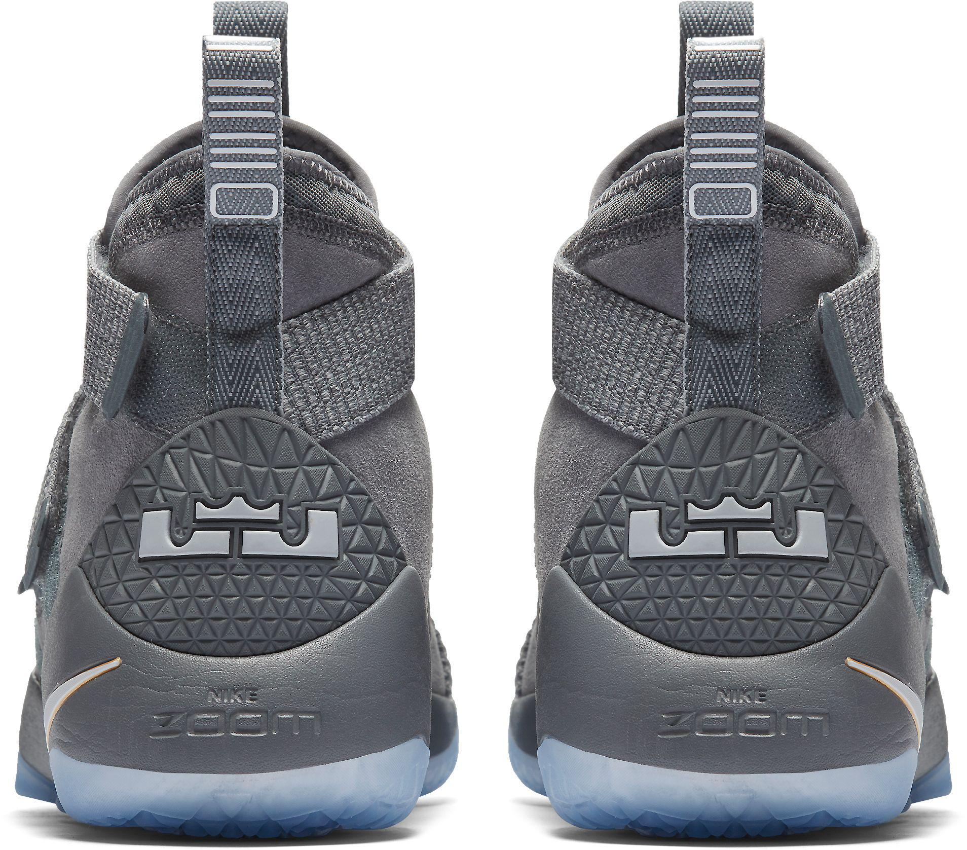 new products 80651 1b502 Nike - Gray Zoom Lebron Soldier Xi Basketball Shoes for Men - Lyst