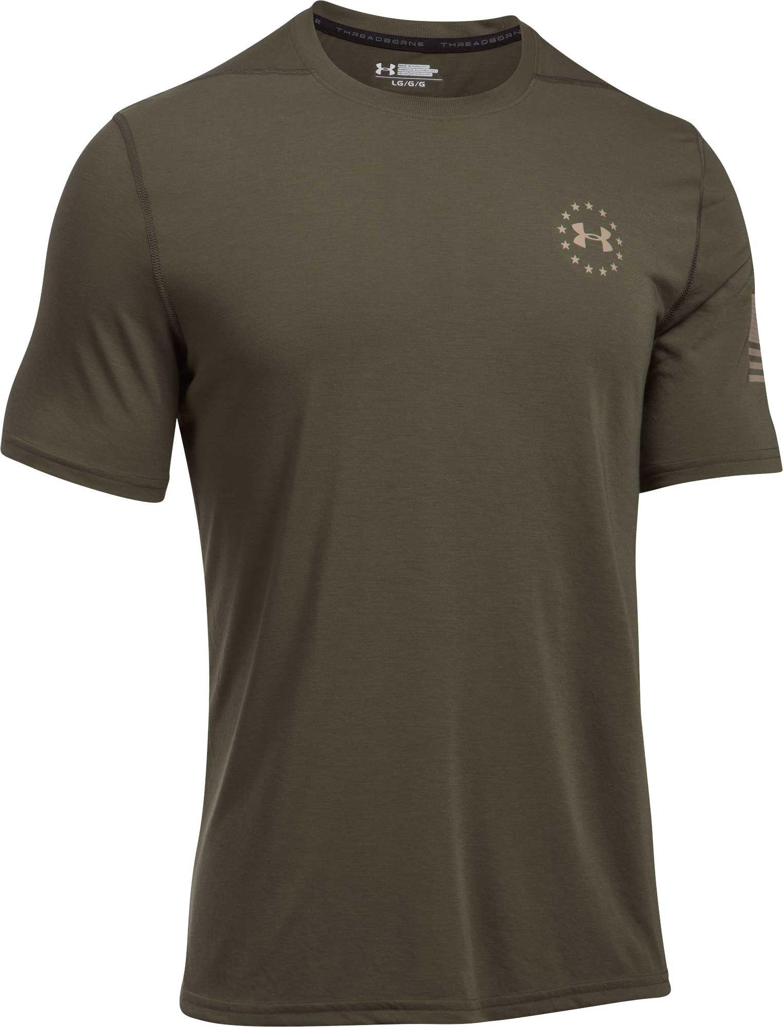 6c1ef32d Lyst - Under Armour Freedom Siro T-shirt in Green for Men