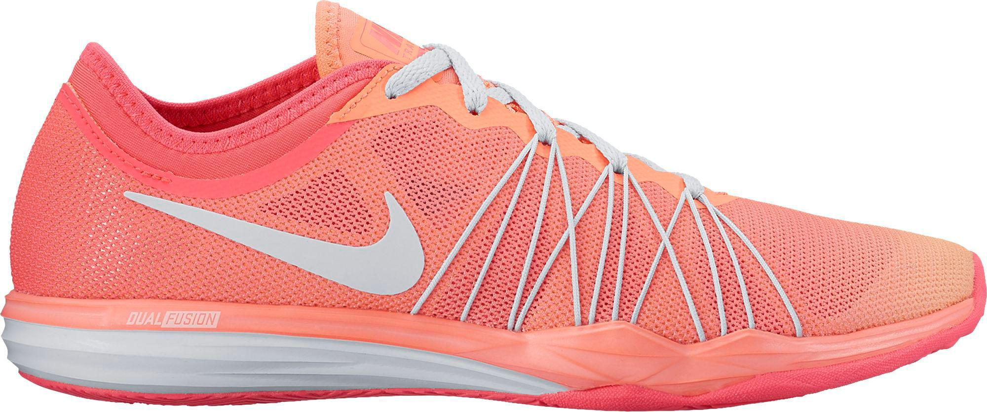 new styles 1b95a f0813 Nike Dual Fusion Tr Hit Fade Training Shoes in Pink - Lyst