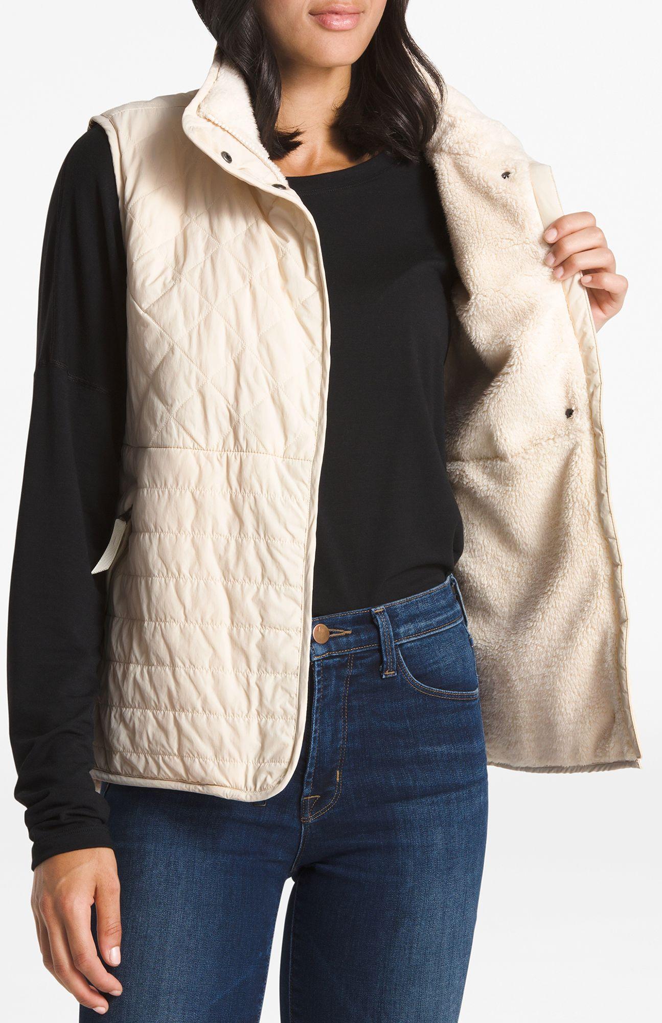 f905a57ed Women's White Rosie Sherpa Vest