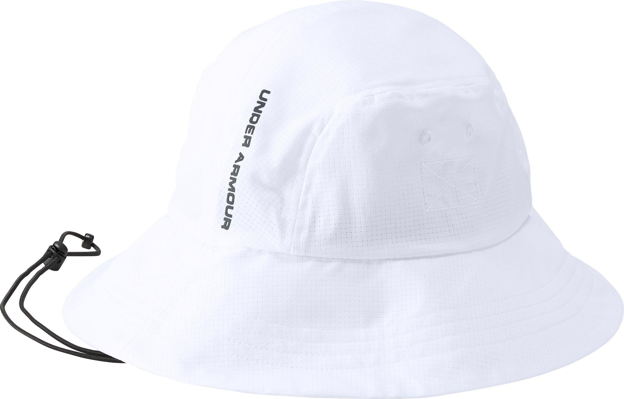 4c439d90e89 Lyst - Under Armour Armourvent Warrior 2.0 Bucket Hat in White for Men