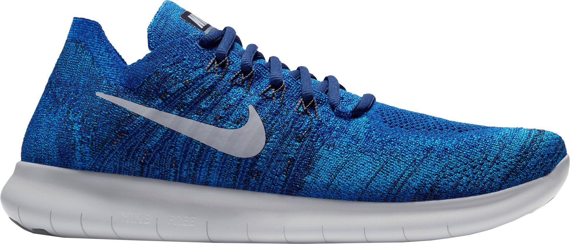 217d68d94717 Lyst - Nike Free Rn Flyknit 2017 Running Shoes in Blue for Men