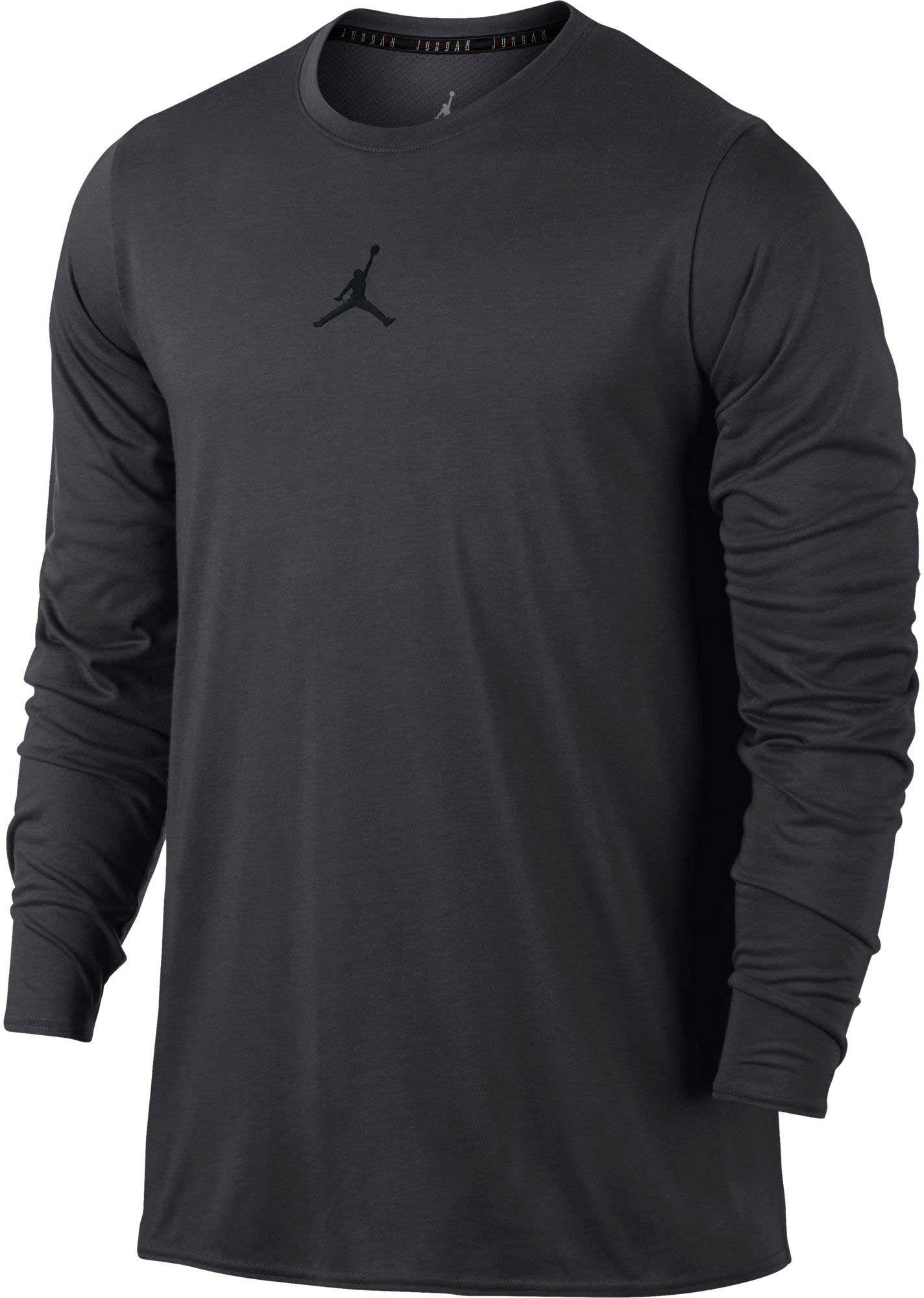896f8cceab9e Lyst - Nike Jordan 23 Alpha Long Sleeve Shirt in Black for Men