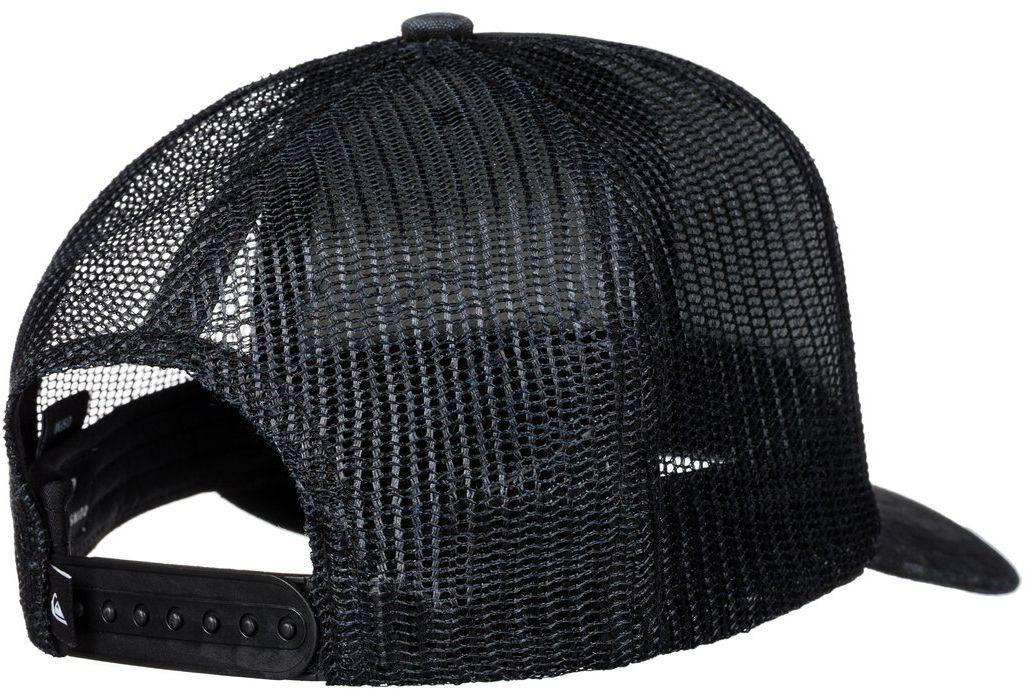 112d869fbf8 Quiksilver - Black Shade Ride Trucker Hat for Men - Lyst. View fullscreen