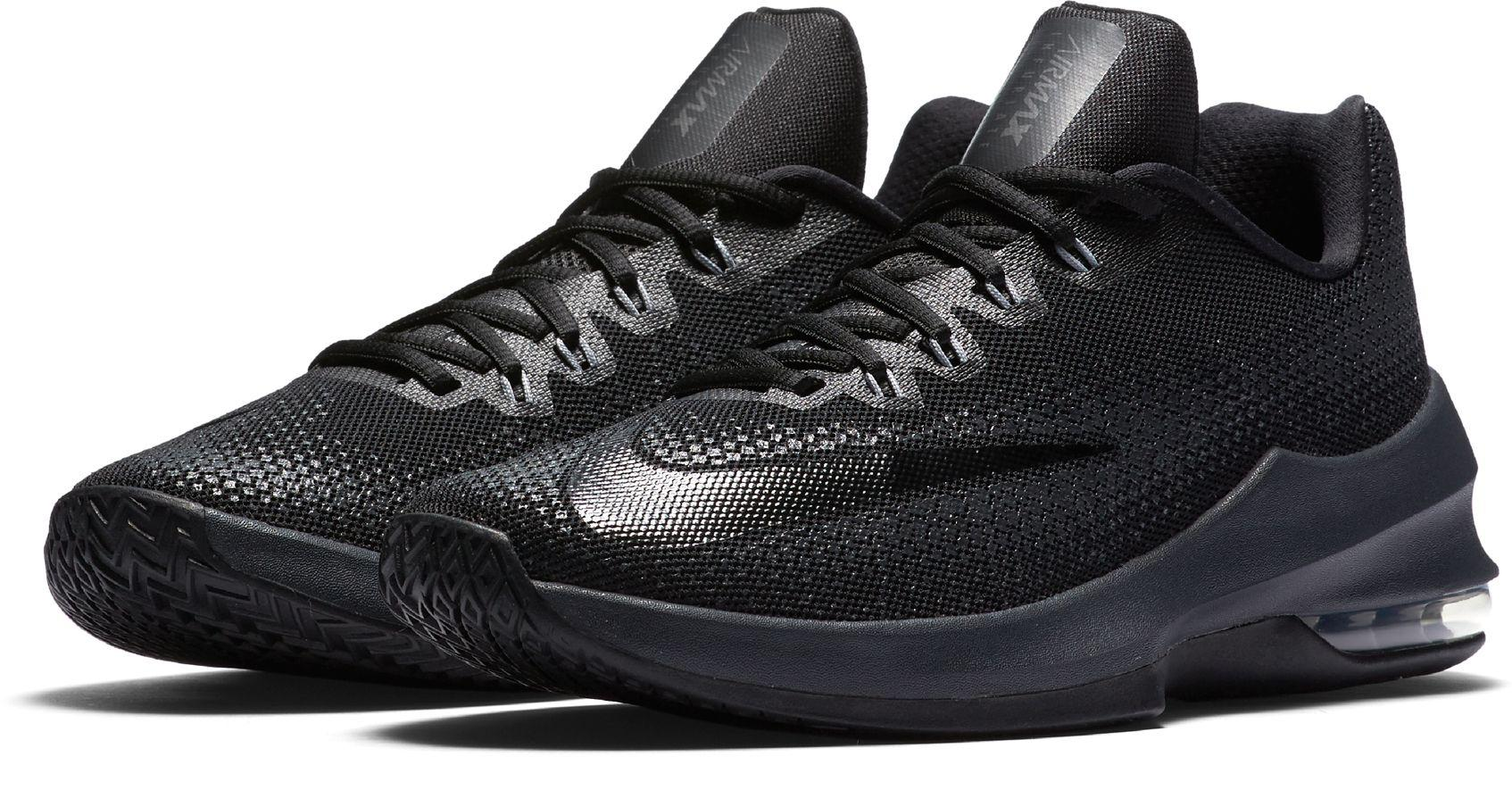Lyst Nike Air Max Infuriate Low Basketball Chaussures  in Noir for Homme