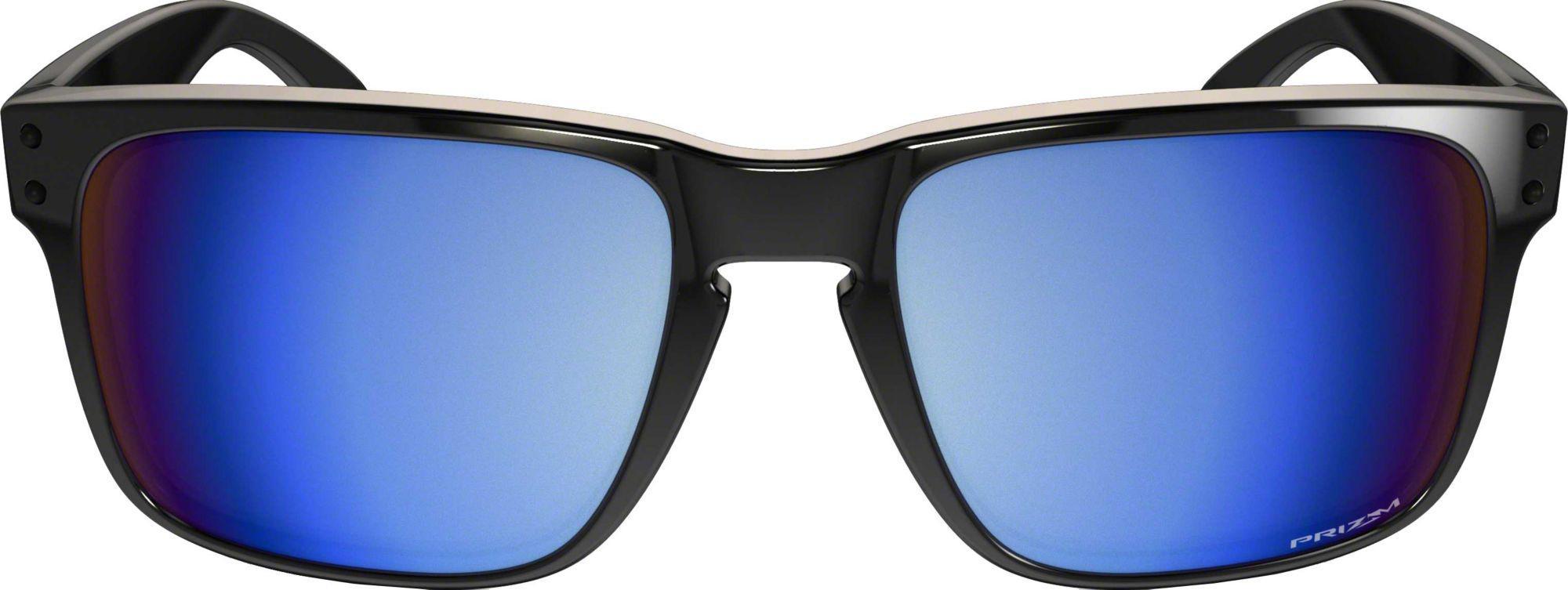 dee8d318a8 ... spain oakley black holbrook prizm deep water polarized sunglasses for  men lyst. view fullscreen 29a32