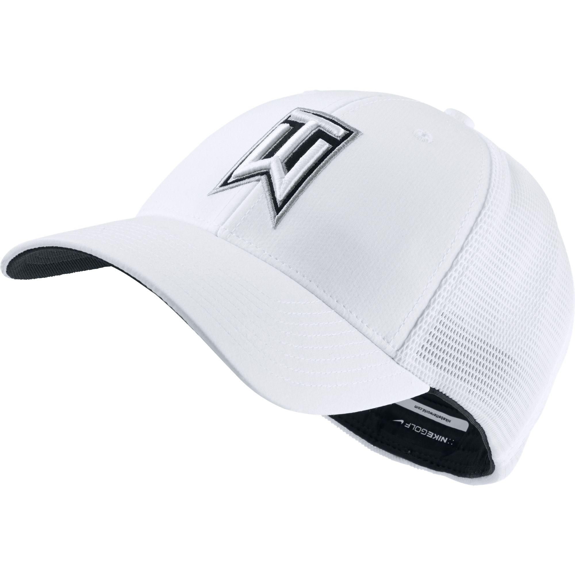 fbd1fa065fb62 Nike Tiger Woods Legacy91 Tour Mesh Golf Hat in White for Men - Lyst