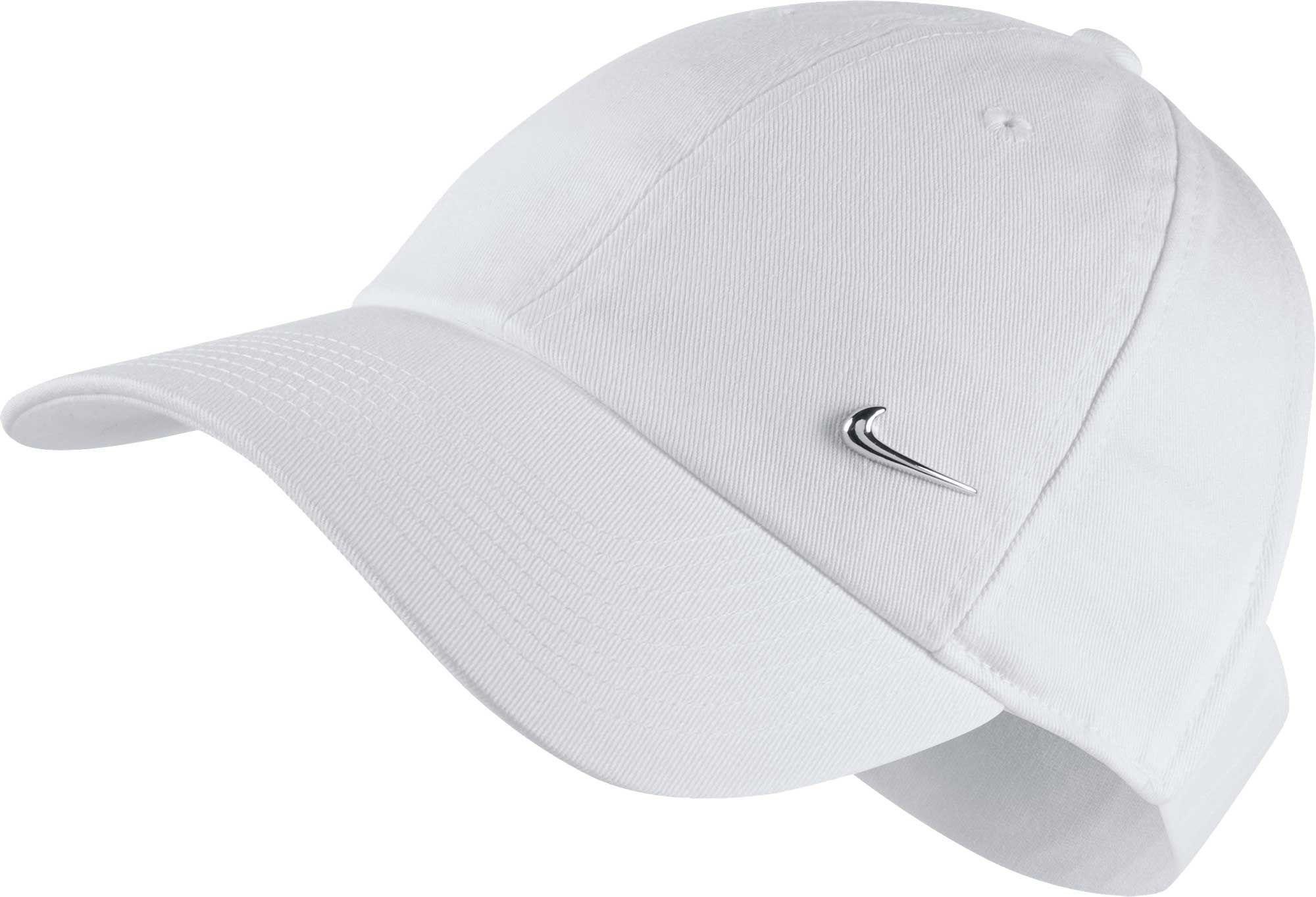1793834a4773a ... new arrivals lyst nike sportswear open back visor hat in white 8d383  eda4c