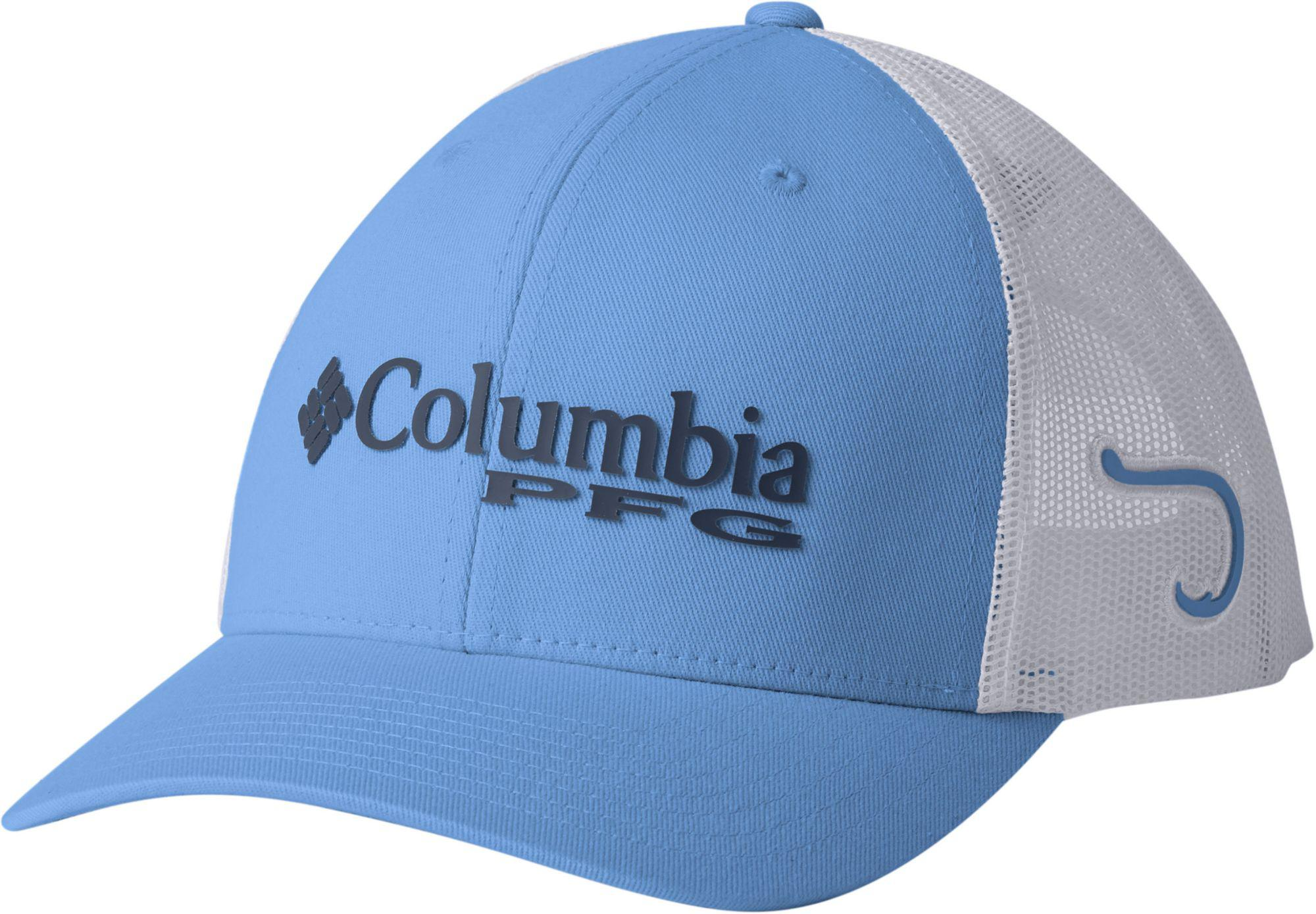 Lyst - Columbia Pfg Mesh Snap Back Cap in White for Men 04f4790b7478
