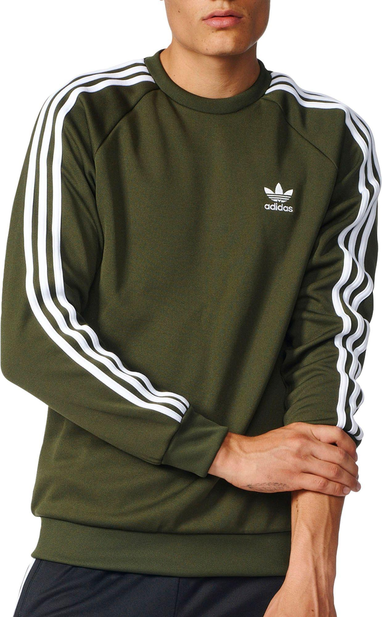 0c53a5433636 Lyst - adidas Originals Superstar Sweatshirt in Green for Men