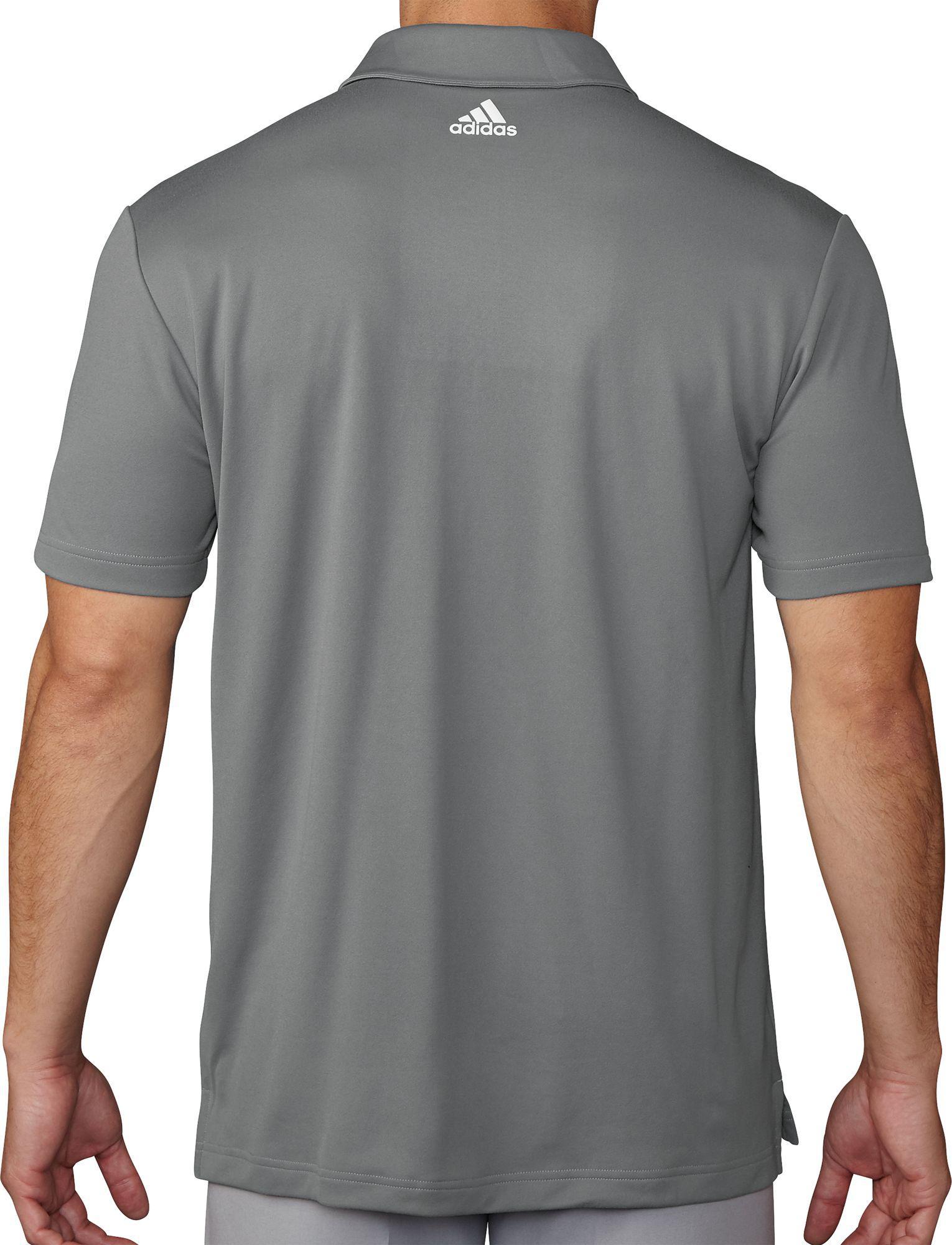 innovative design 57ee3 f2054 Adidas Climacool 3 Stripes Soft Jersey Golf Polo Shirt
