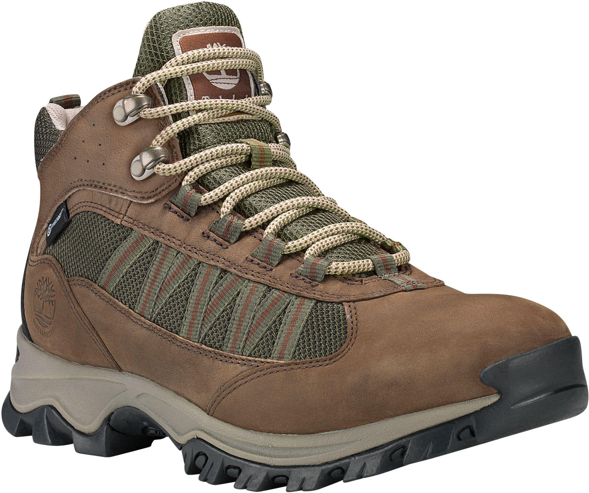 809a6eb12ce Timberland Brown Mt. Maddsen Lite Mid Waterproof Hiking Boots for men