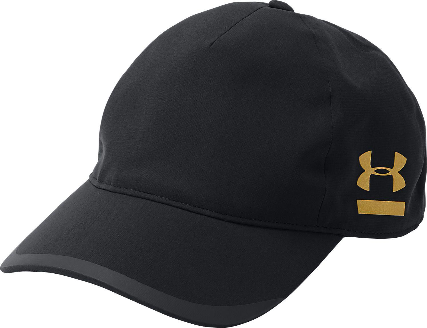 Lyst - Under Armour Perpetual Free Fit Hat in Black for Men e5e936143fc2