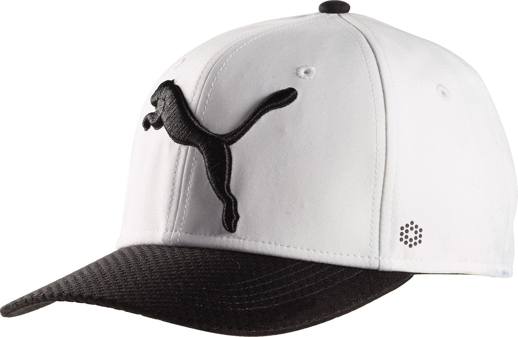 new style 86917 053df PUMA. Men s White Golf Disc Hat