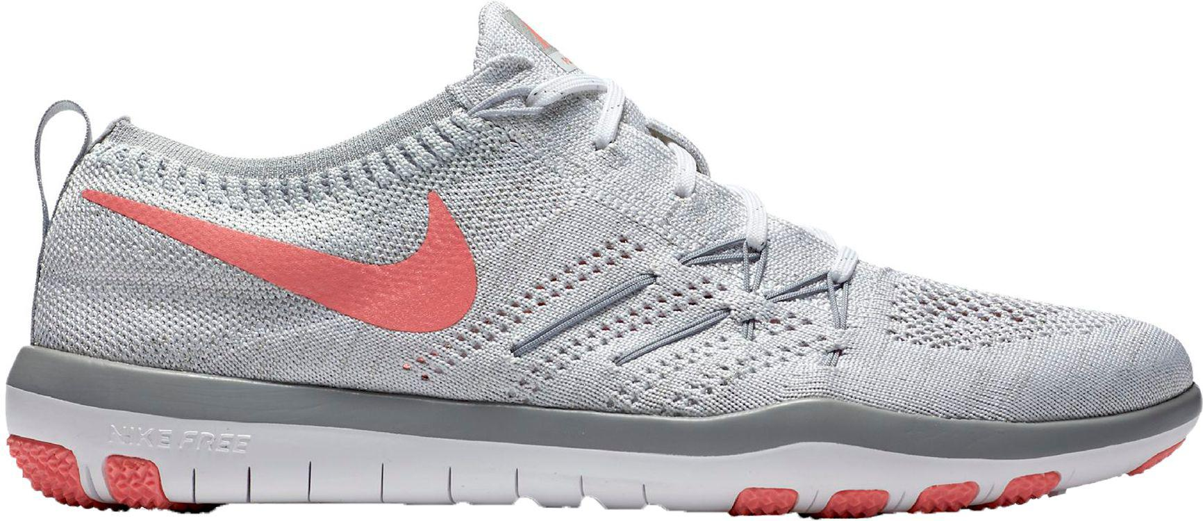 3bc6d6a65d3e Lyst - Nike Free Tr Focus Flyknit Training Shoes in White for Men