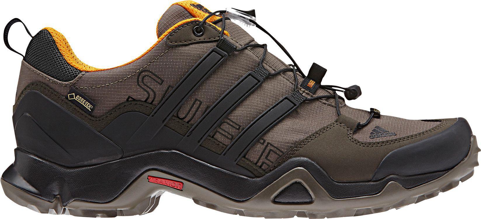 adidas Lace Terrex Swift R Gtx Hiking Shoes in Dark Green