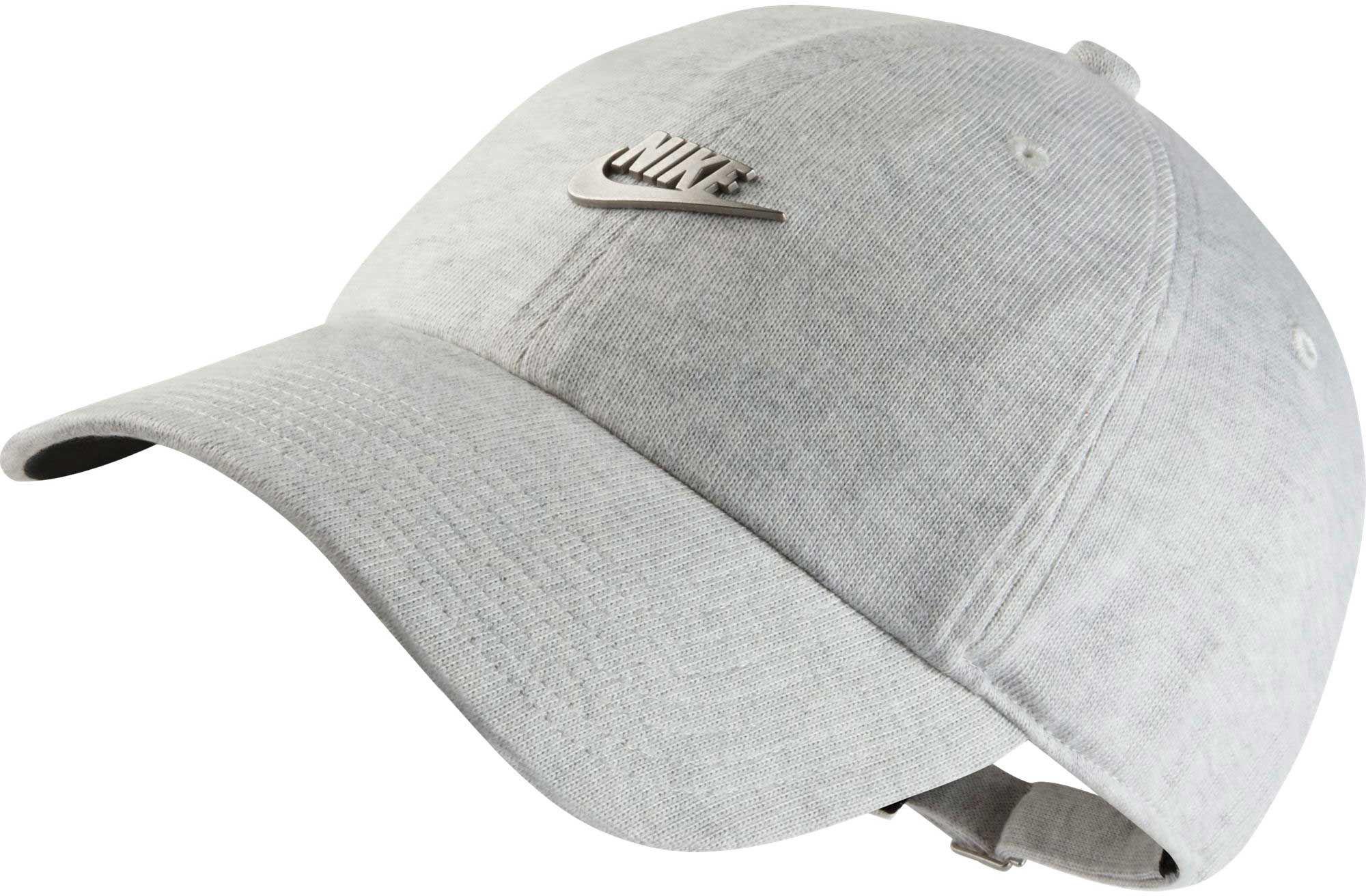 d62a830f8ab Lyst - Nike Sportswear Heritage86 Metal Futura Training Cap in Gray ...