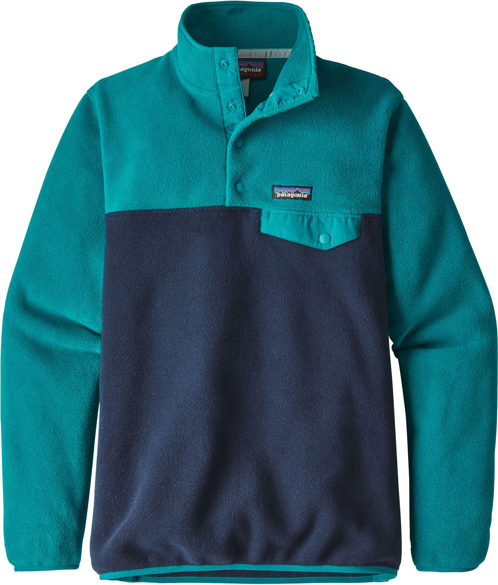 c47bcd3c818d Lyst - Patagonia Synchilla Snap-t Fleece Pullover in Blue for Men