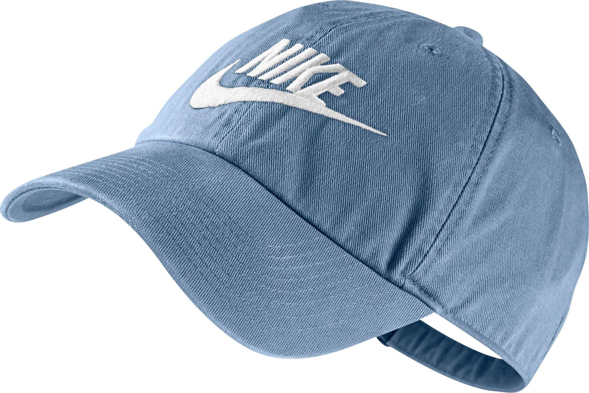 38a43f78f4575 ... denmark lyst nike heritage 86 futura adjustable hat in blue for men  9ccc1 2fe46