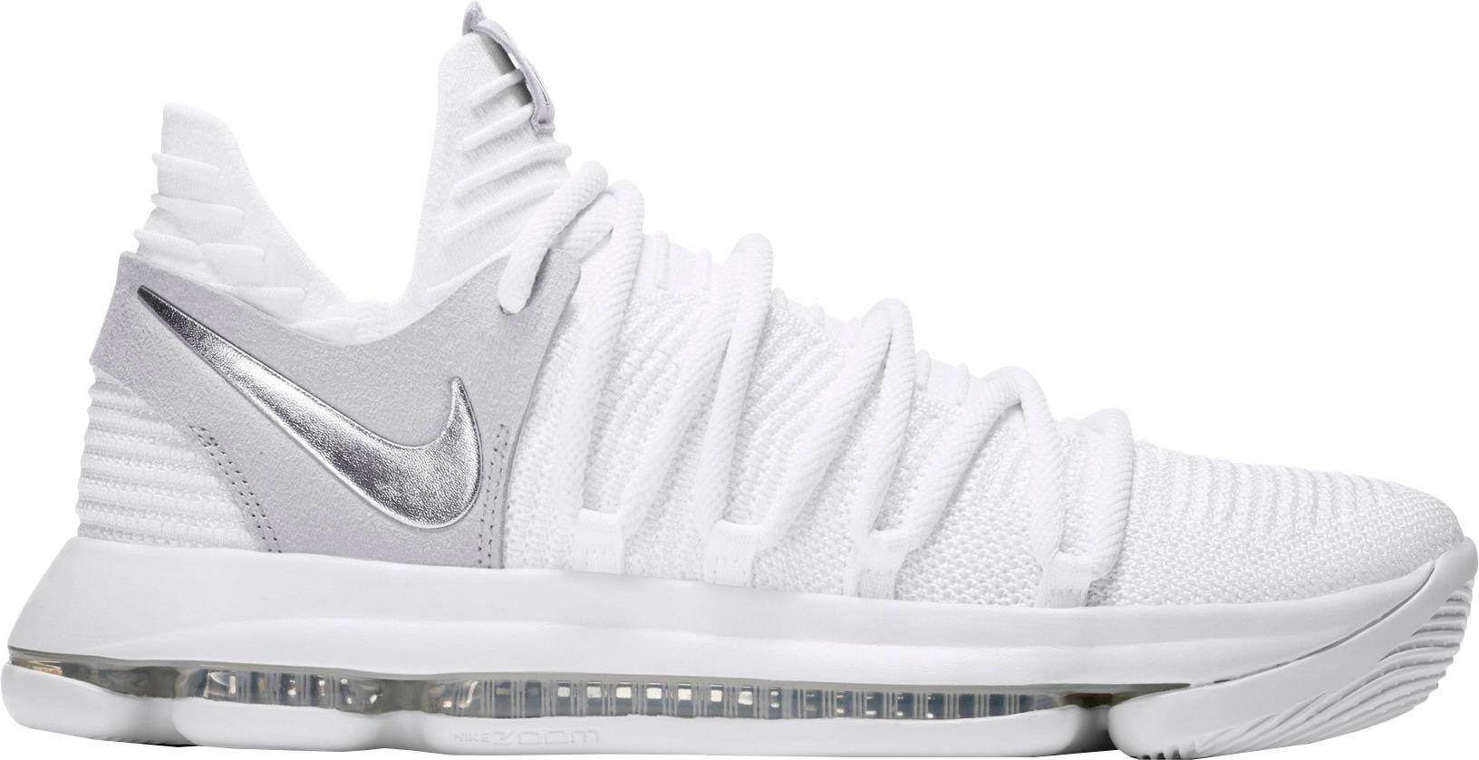 95f15b8b8025 Lyst - Nike Zoom Kd 10 Basketball Shoes in White for Men
