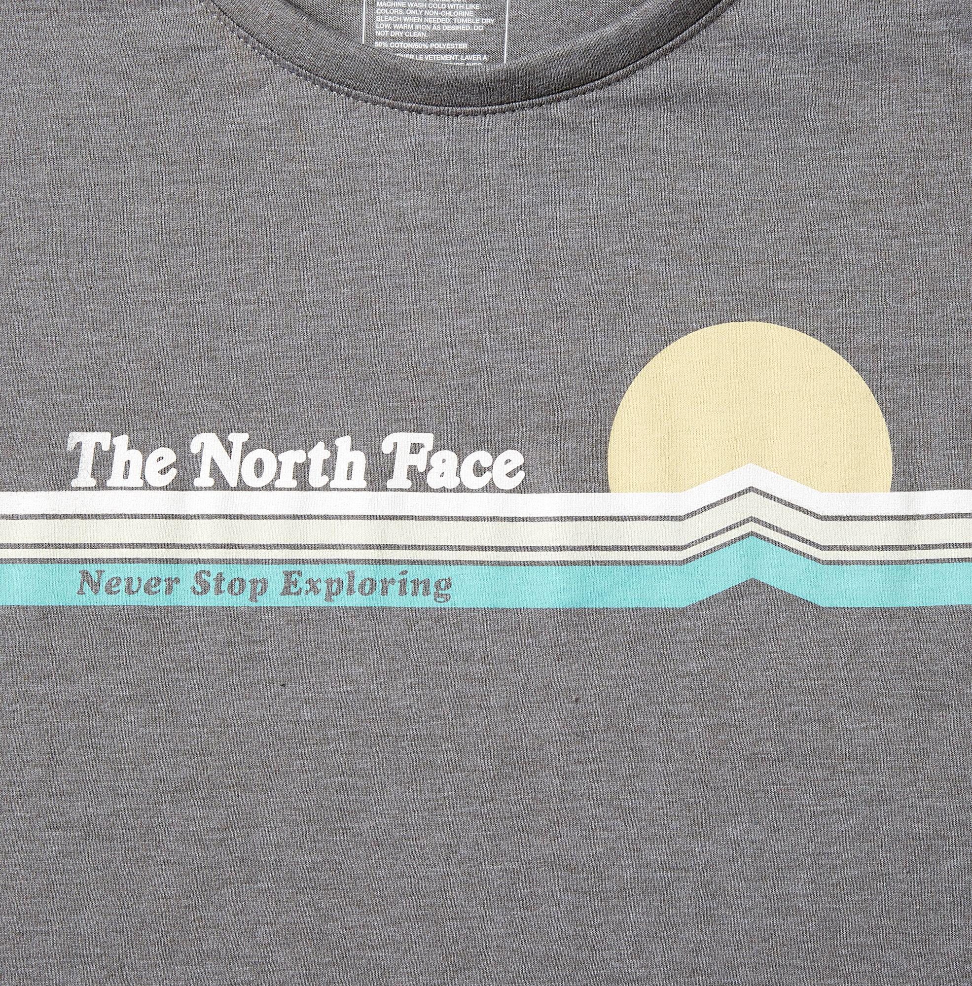 c31ebd599 The North Face Gray Vintage Sunset Scoop T-shirt - Past Season