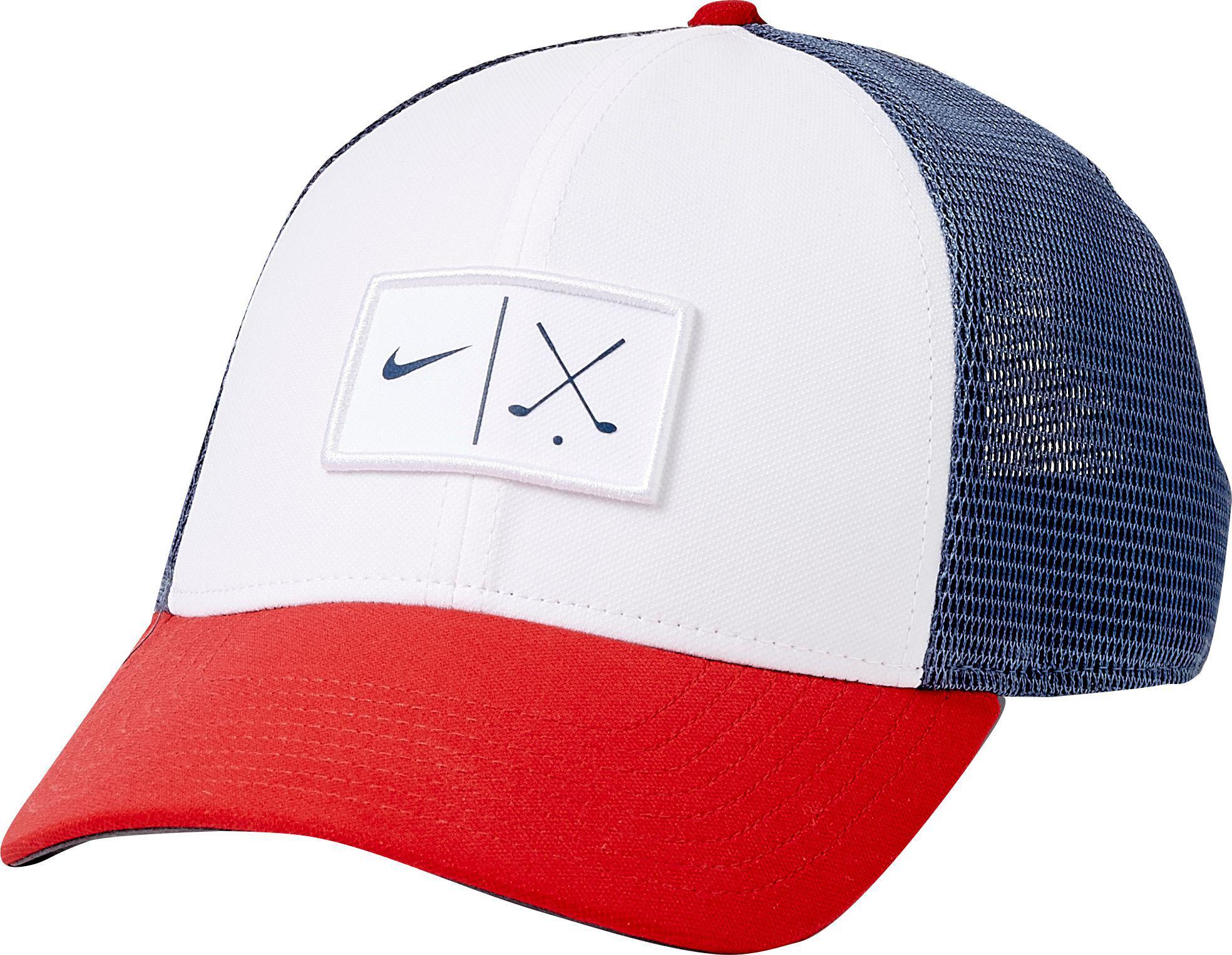 421ea6fae7a Lyst - Nike Mesh Golf Hat in Blue for Men