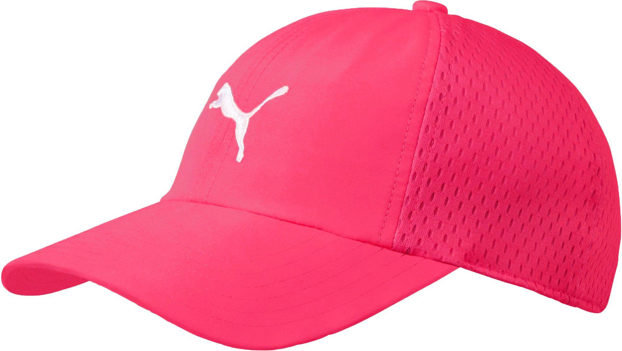 Lyst - PUMA Youth Air Mesh Golf Hat in Pink for Men 61cae7fc057
