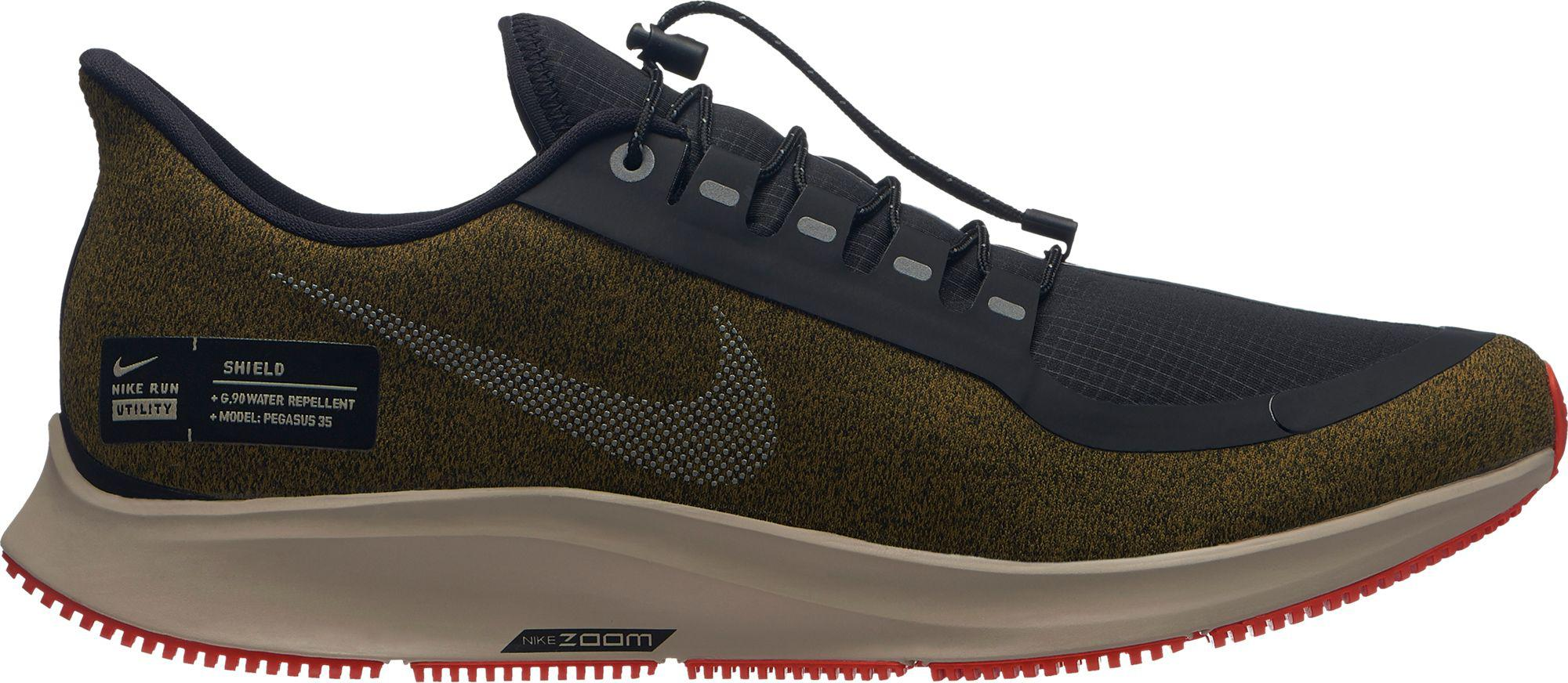 2a01f7ea282f6 Lyst - Nike Air Zoom Pegasus 35 Shield Running Shoes in Black for Men