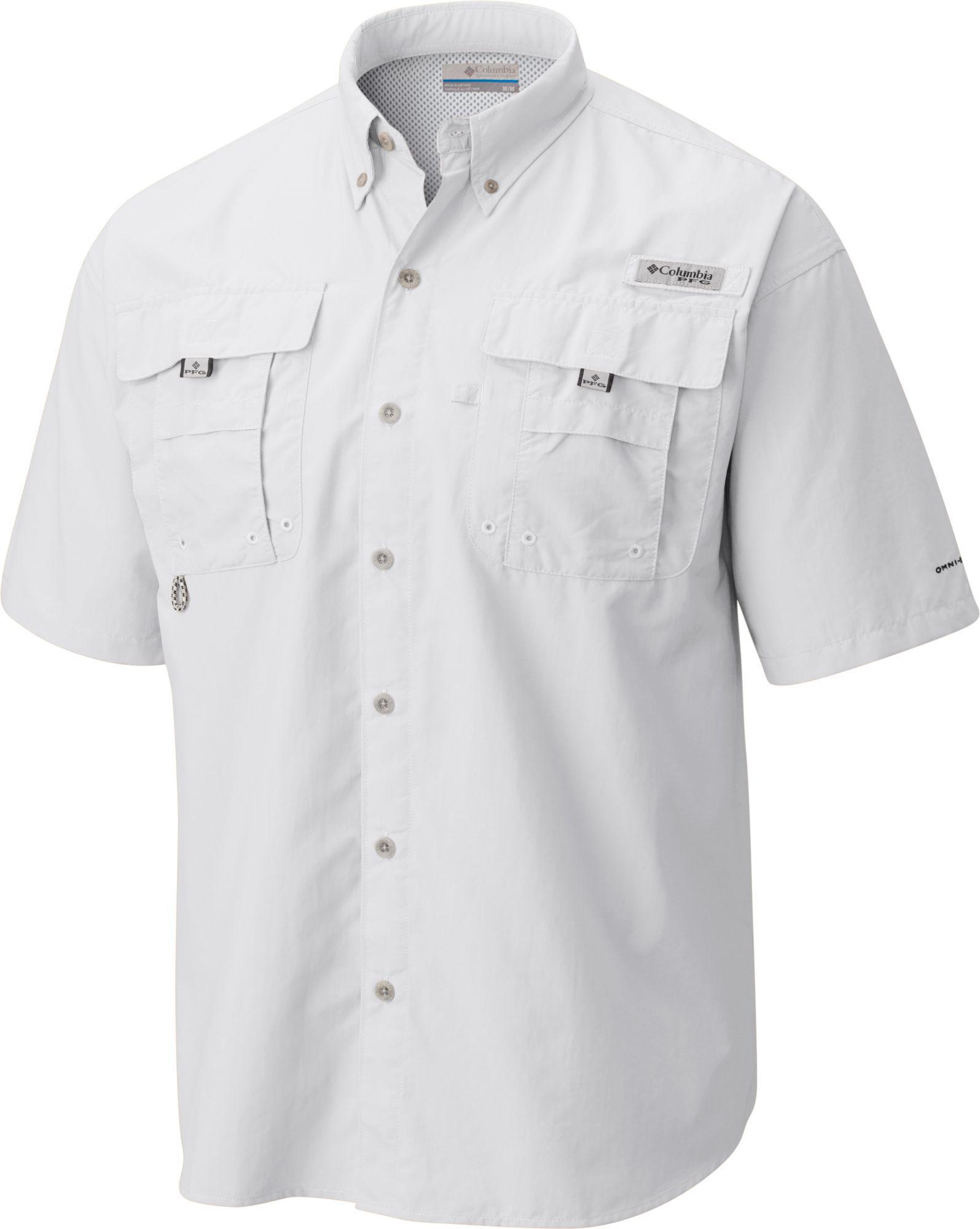 44940e28ff5 Columbia - White Pfg Bahama Button Down Shirt for Men - Lyst. View  fullscreen