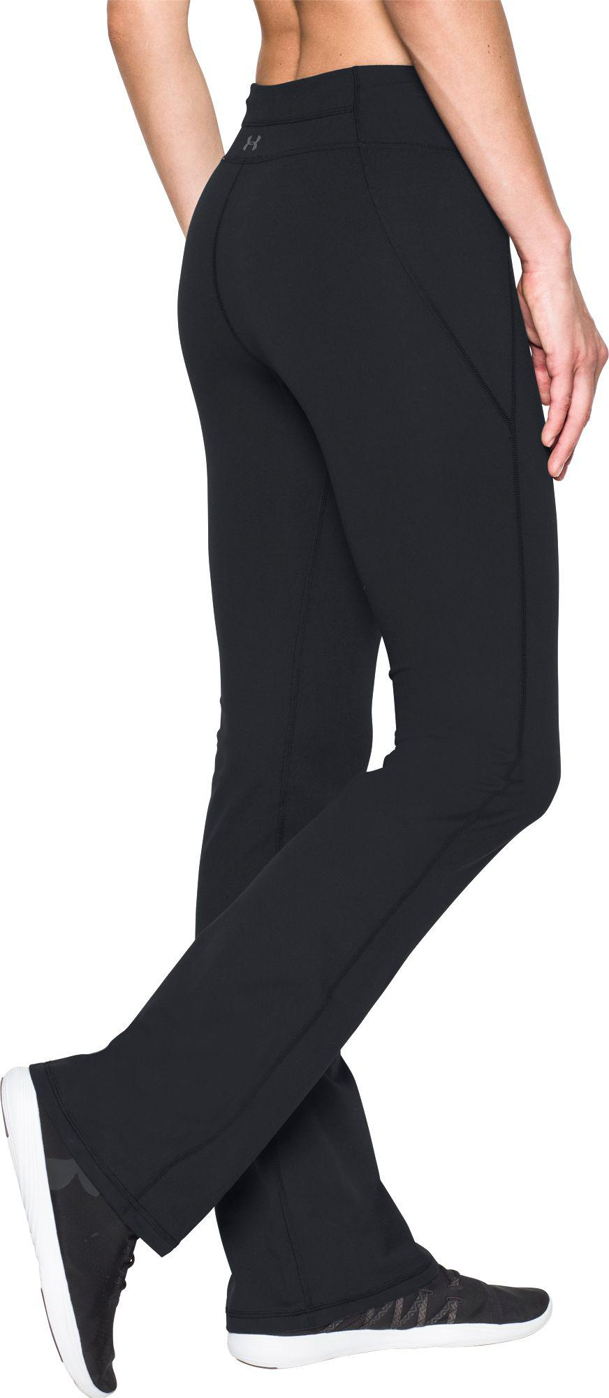 9585dc920f428 Under Armour Mirror Boot Cut Pants in Black - Lyst