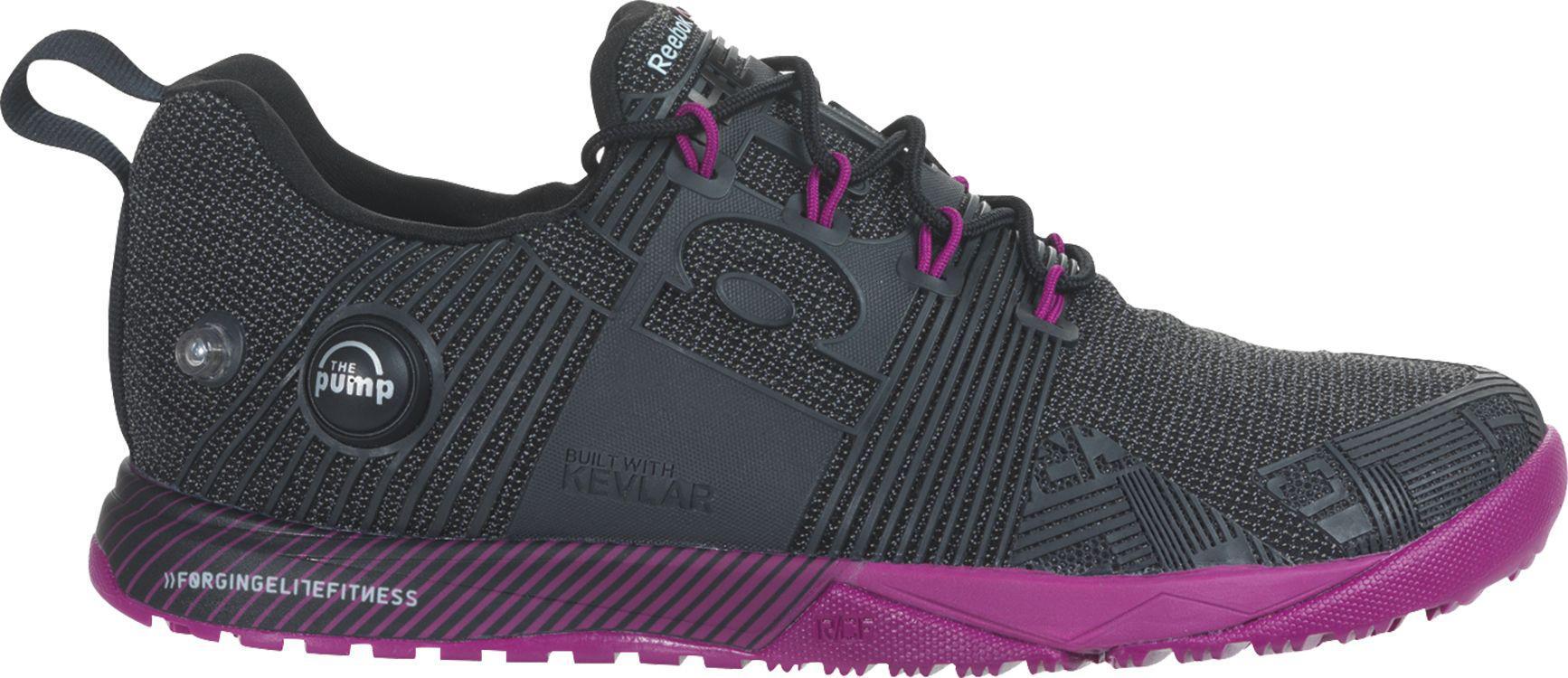 f0dd1f4de7c Lyst - Reebok Crossfit Nano Pump Fusion Training Shoes in Purple