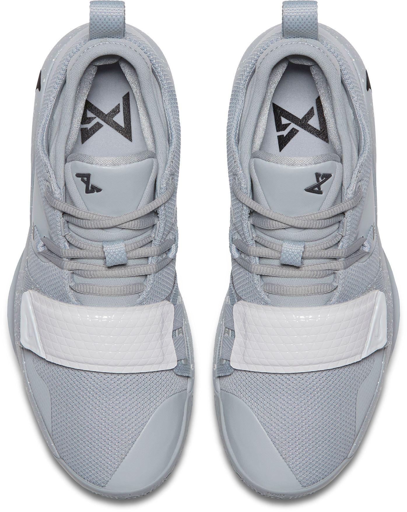 huge selection of 778c0 b8cbe Men's Gray Pg 2.5 Basketball Shoes