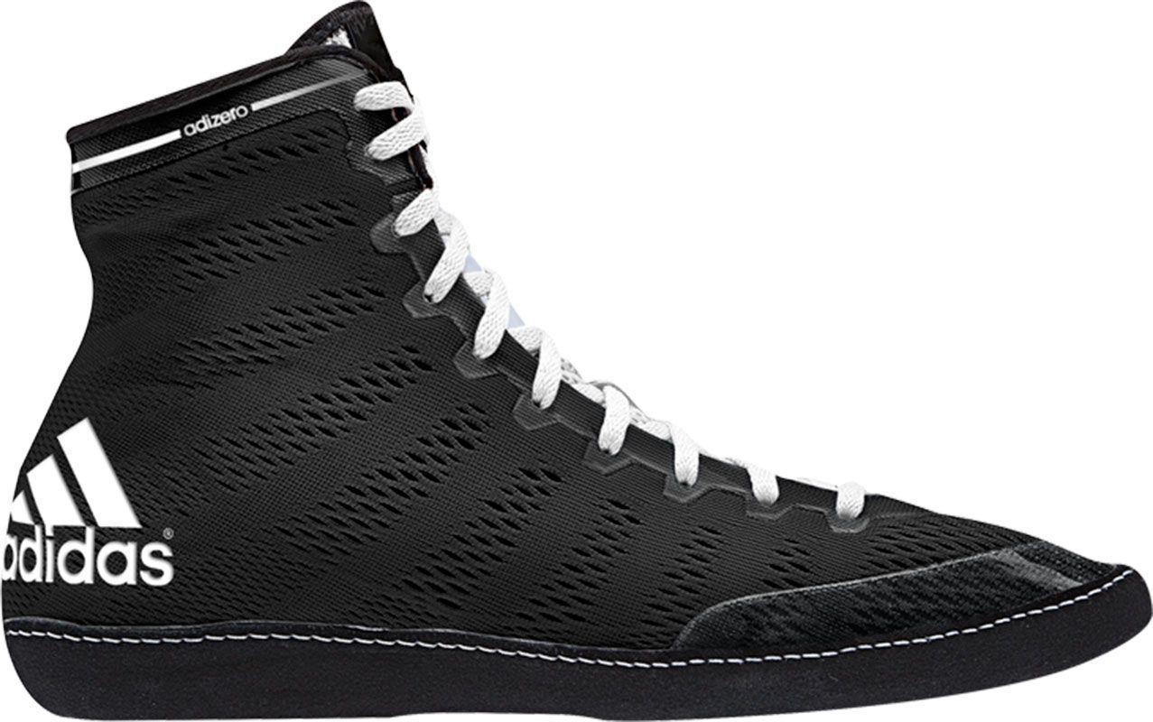 lyst adidas adizero varner wrestling scarpa in nero per gli uomini.