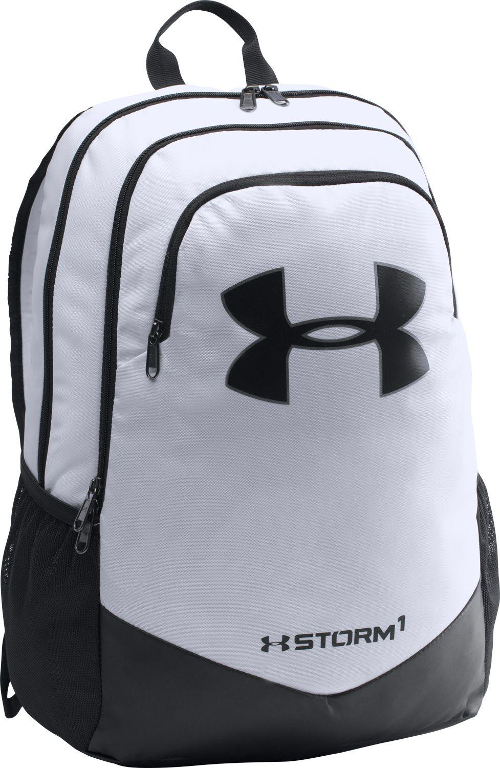 aa28b74eeb0a Lyst - Under Armour Youth Scrimmage Backpack in White for Men