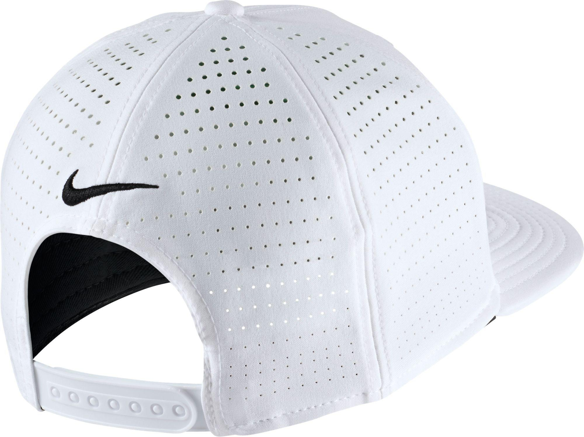 Lyst - Nike Oregon Ducks Pro Perforated Golf Hat in White for Men bd21558743a