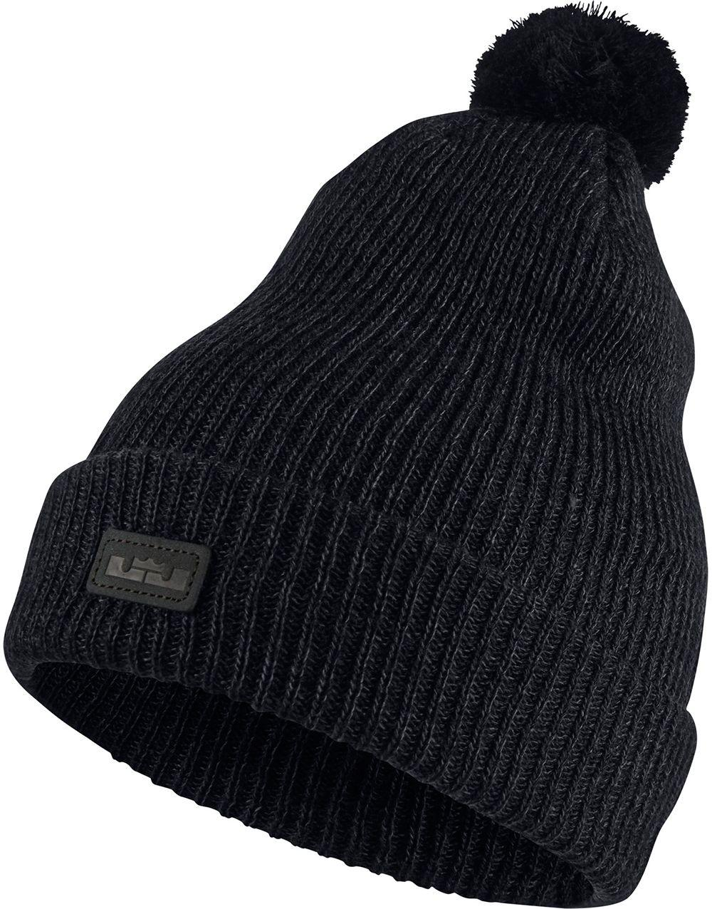 8ae64c71c6c1a Nike Lebron Xii Knit Hat in Black for Men - Lyst