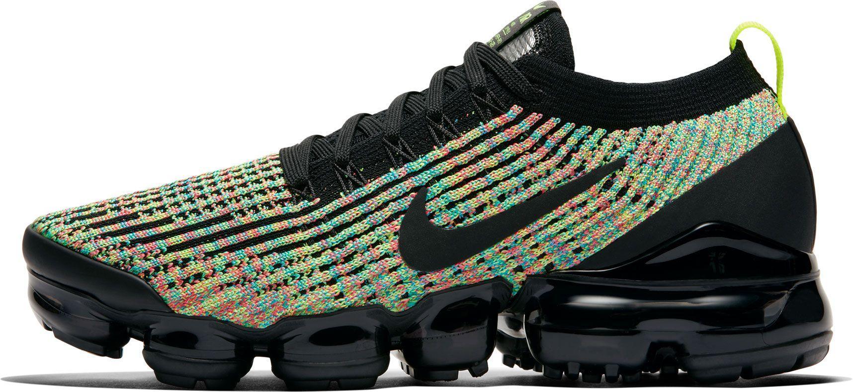 sports shoes 6d596 6dd7c Women's Black Air Vapormax Flyknit 3