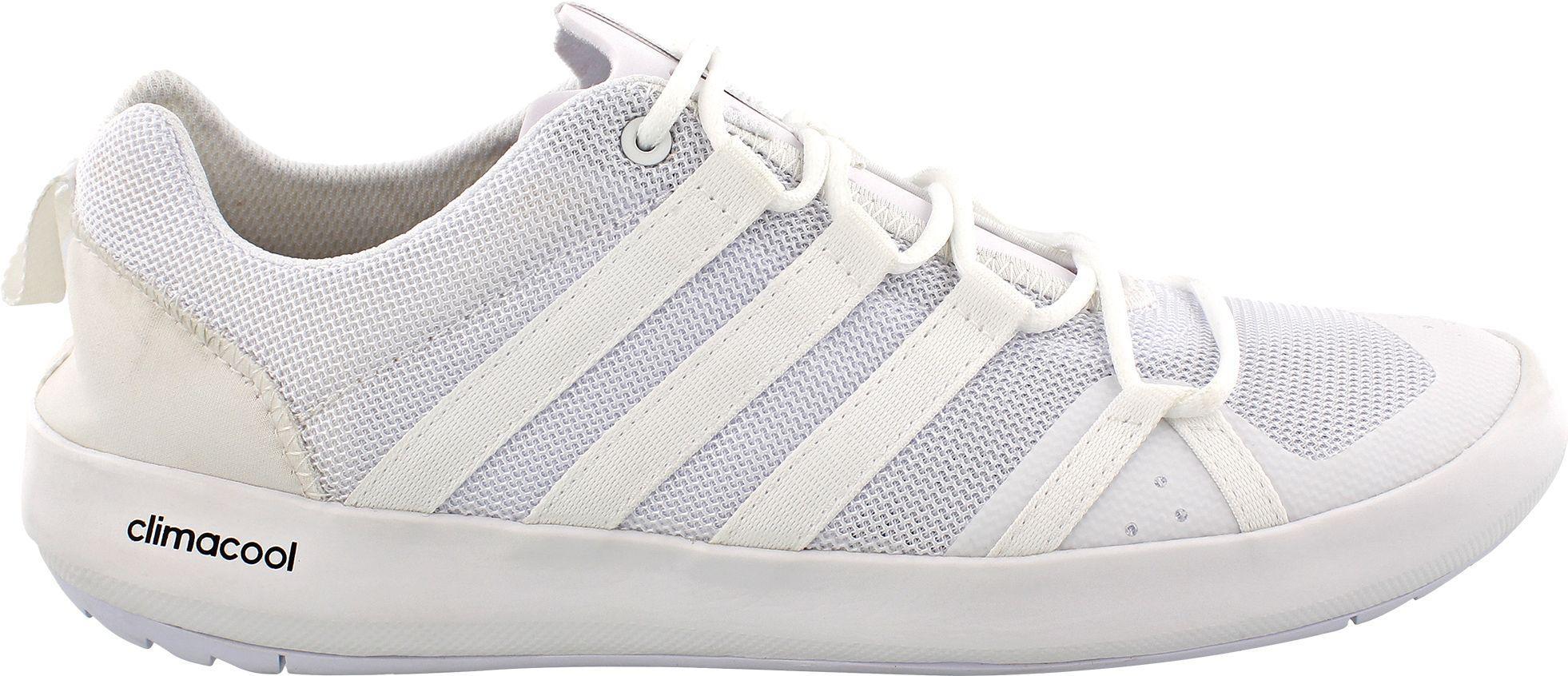 promo code 4d239 5147b Men's White Outdoor Terrex Climacool Boat Shoes