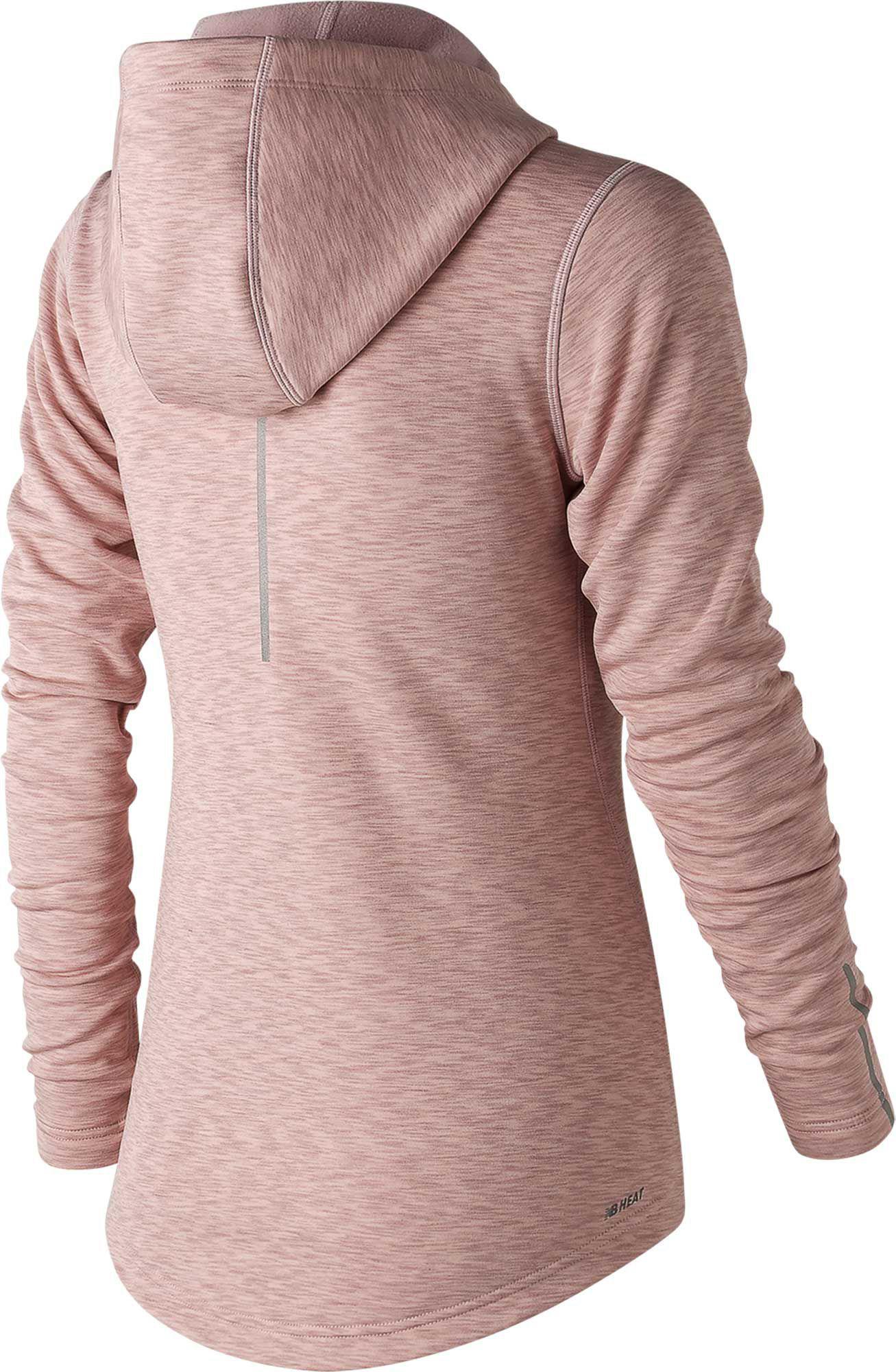 f1cbd12fbf1cc New Balance Wj73100 Nb Heat En Route Jacket in Pink - Lyst